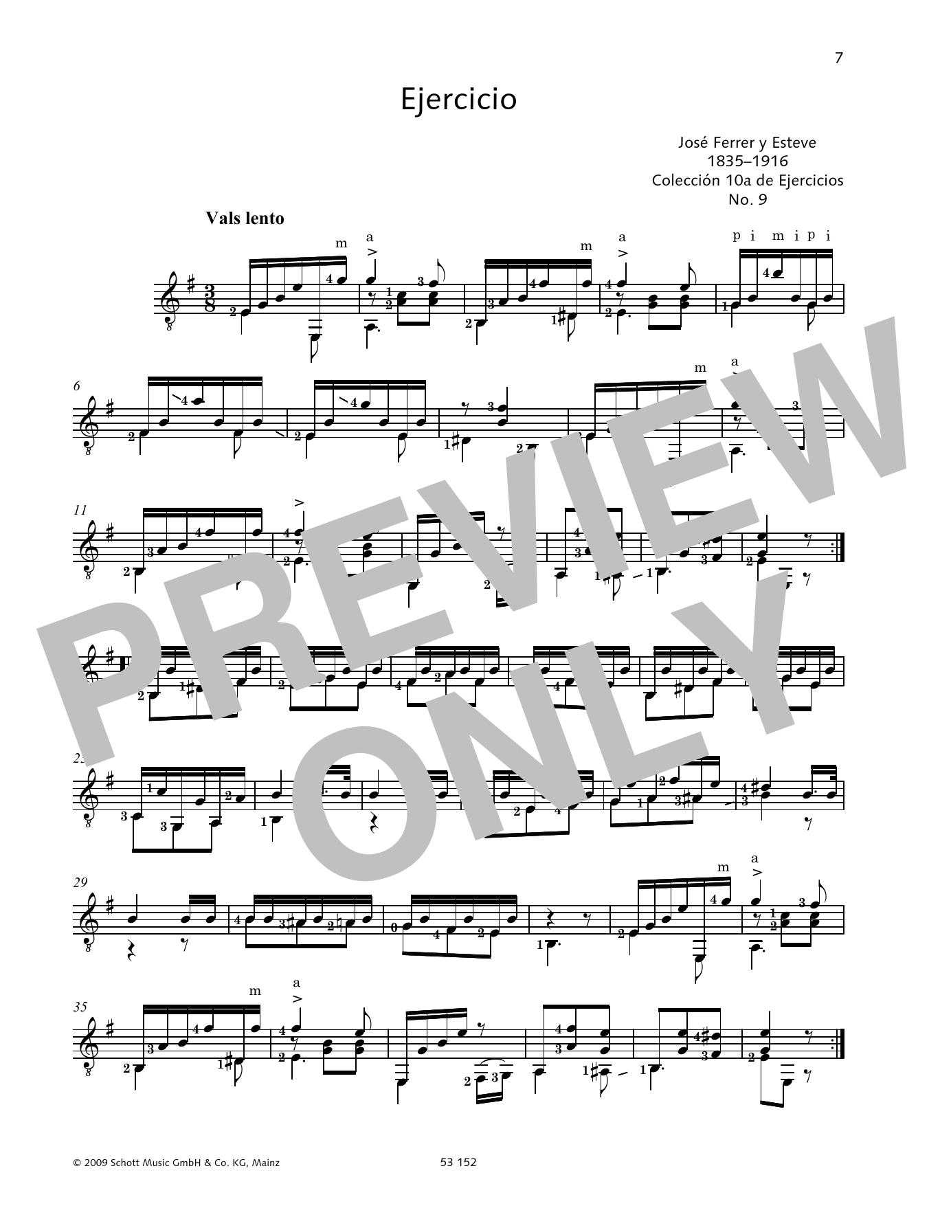 Ejercicio Sheet Music
