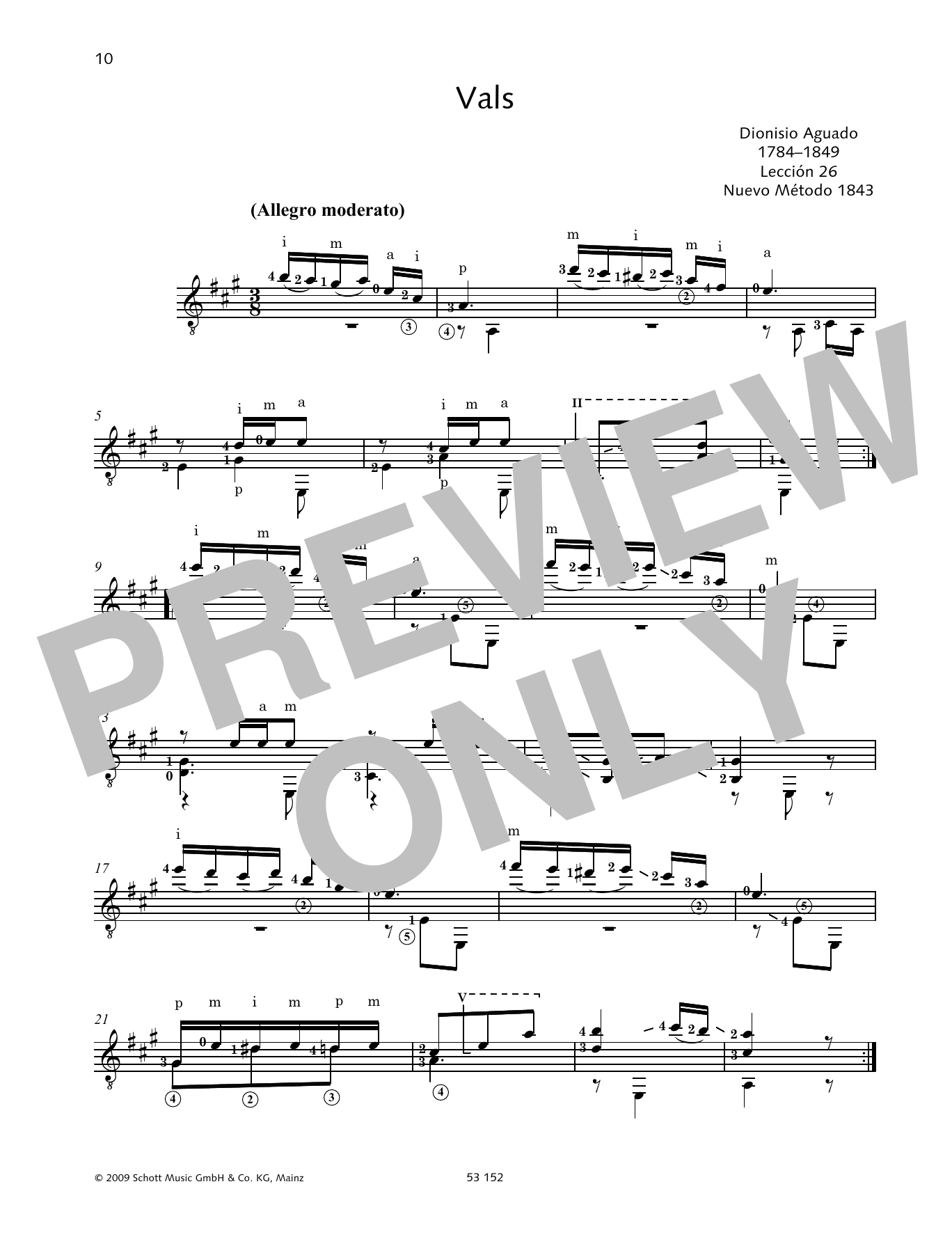 Vals Sheet Music