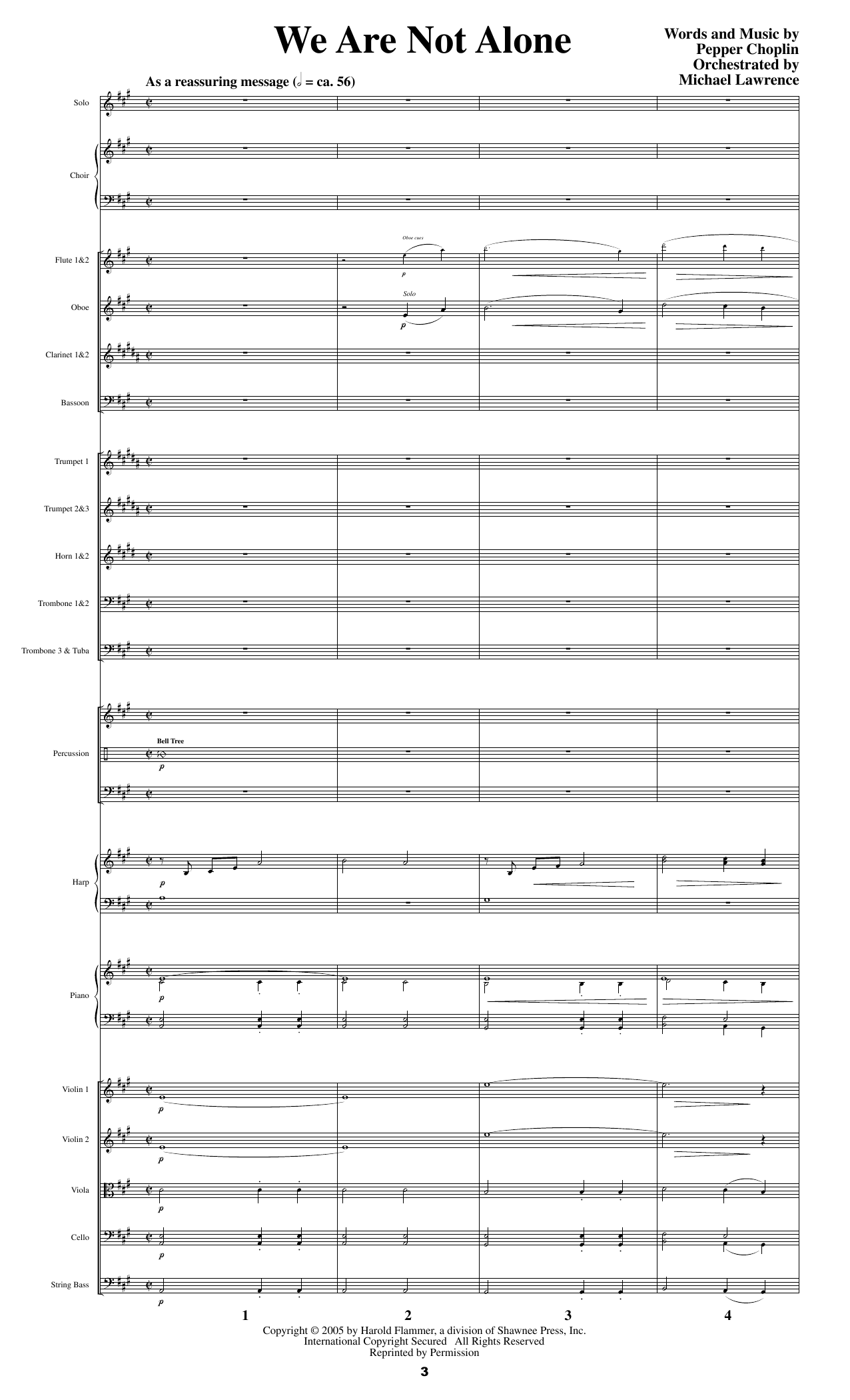 Psalm 23 - A Journey With The Shepherd - Score Sheet Music