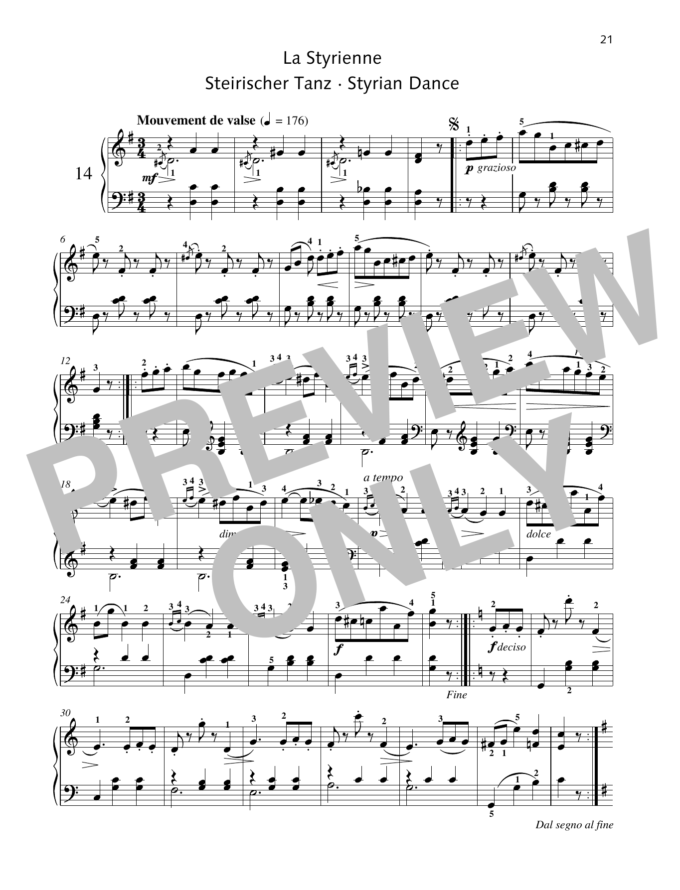 Styrian Dance Sheet Music