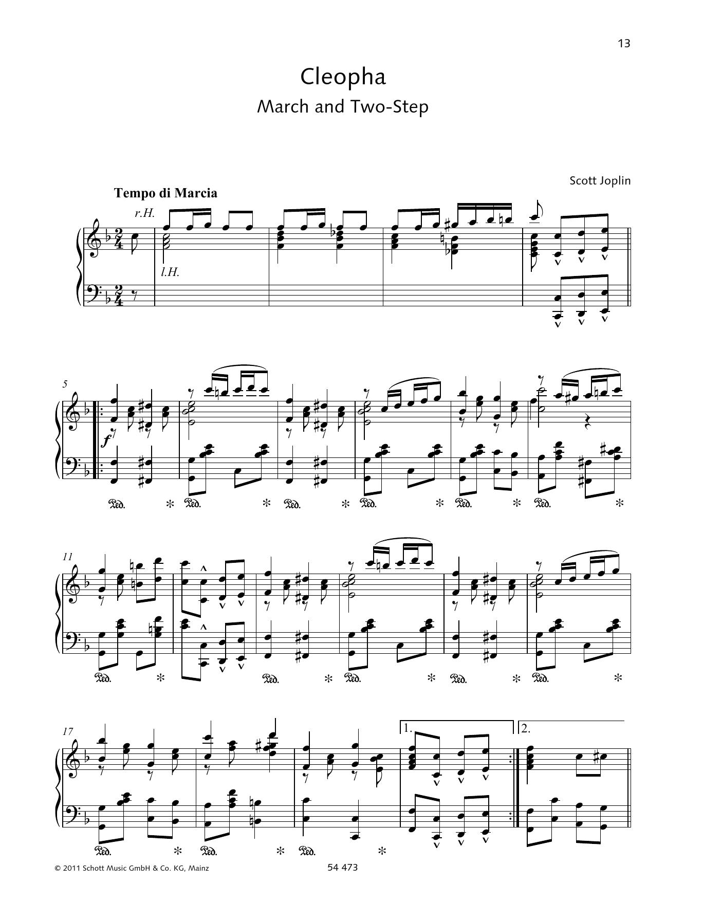 Cleopha Sheet Music