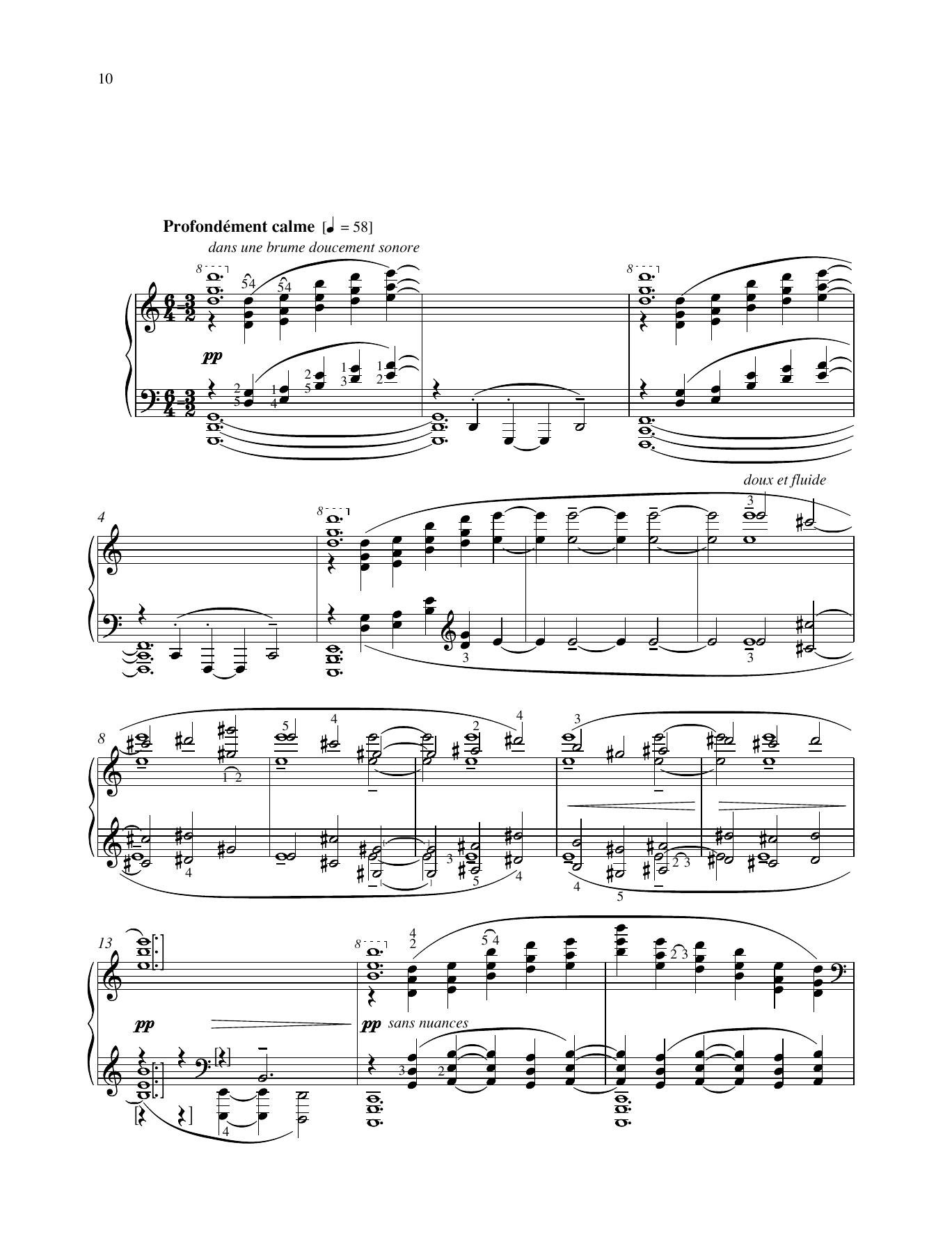 La cathédrale engloutie Sheet Music