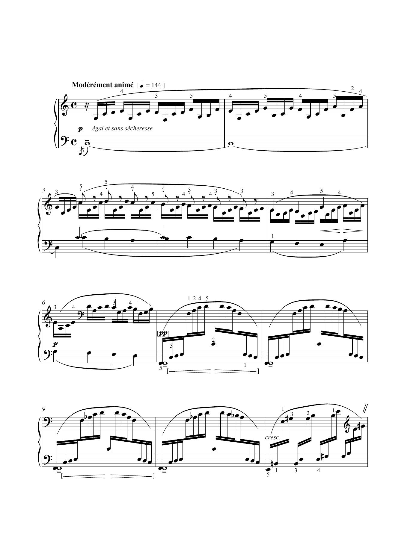 Doctor Gradus ad Parnassum Sheet Music