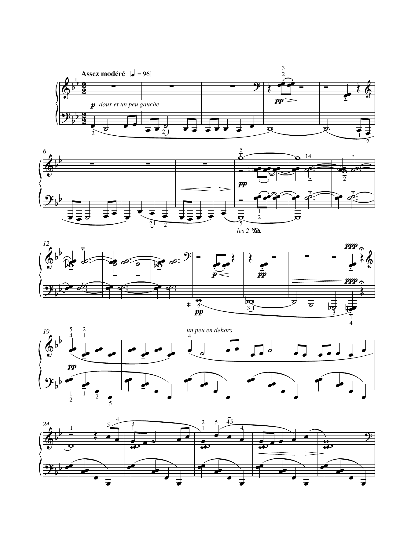 Jimbo's Lullaby Sheet Music