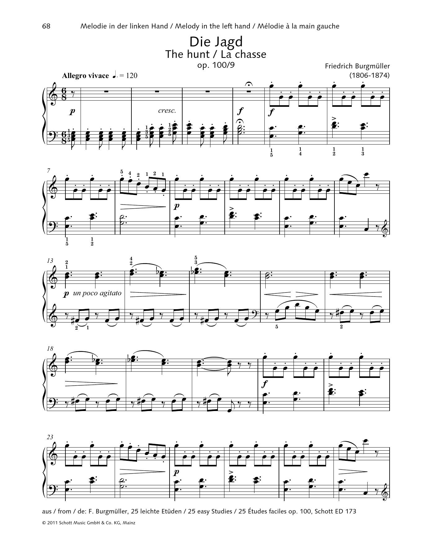 The Hunt Sheet Music