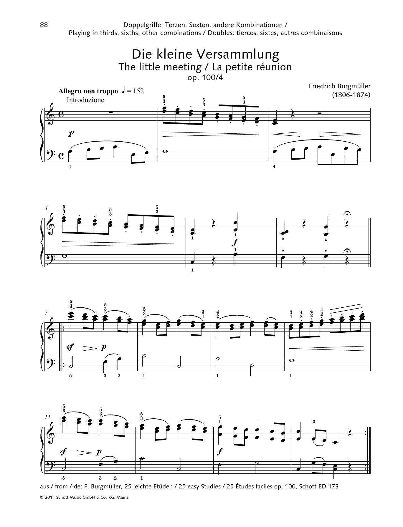 The Little Meeting Sheet Music
