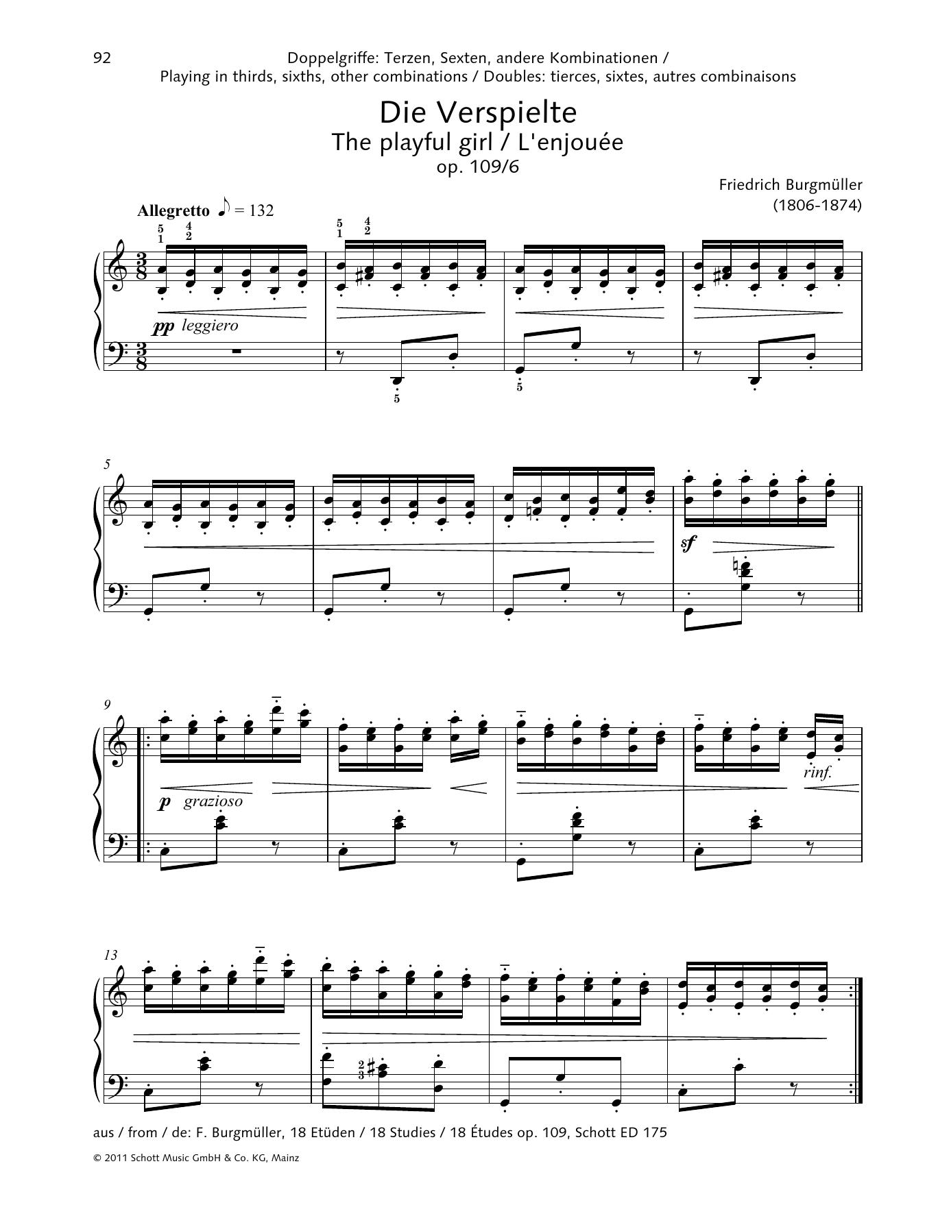 The Playful Girl Sheet Music