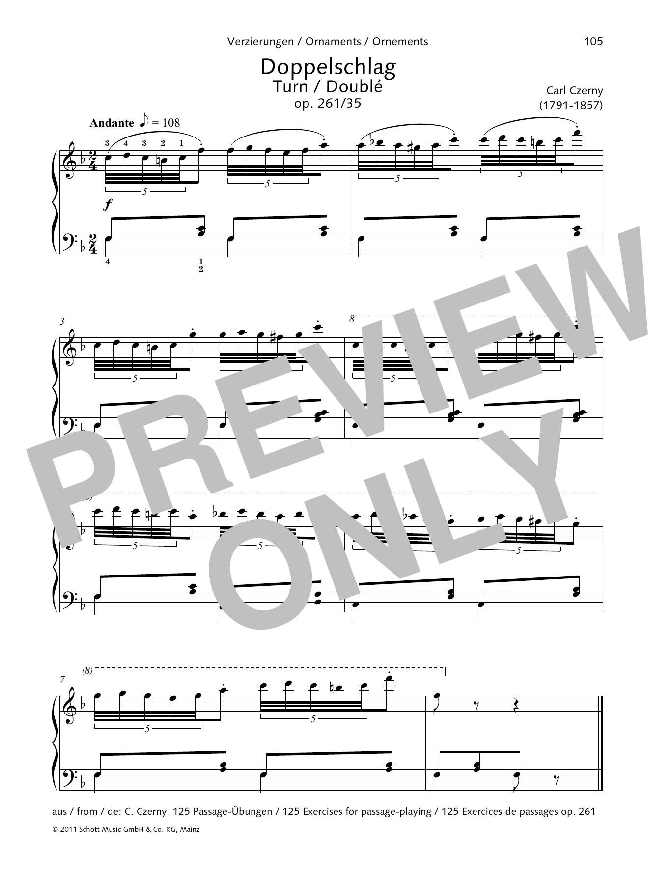 Turn Sheet Music