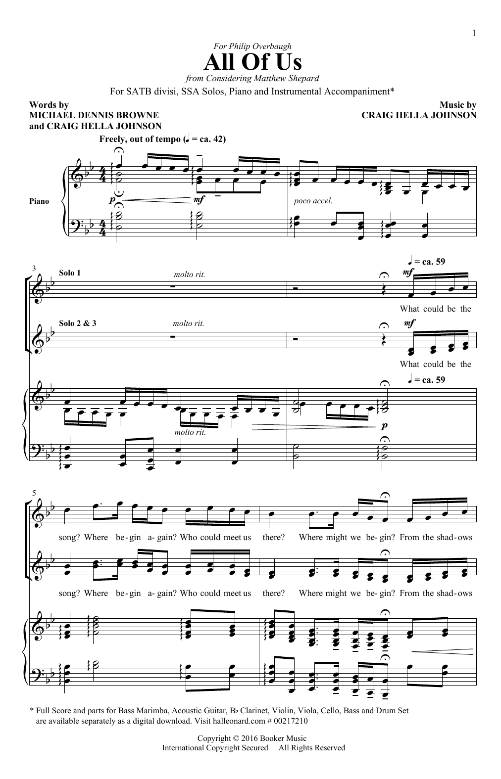 All Of Us Sheet Music