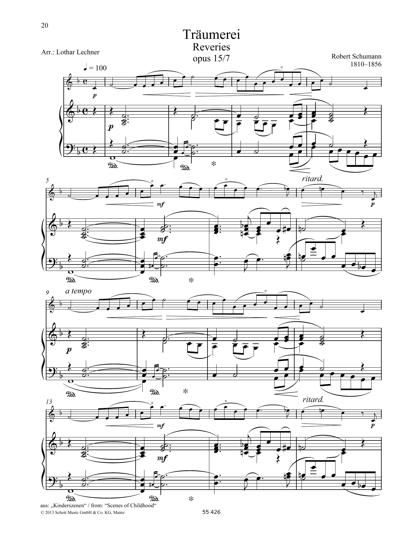 Reveries Sheet Music