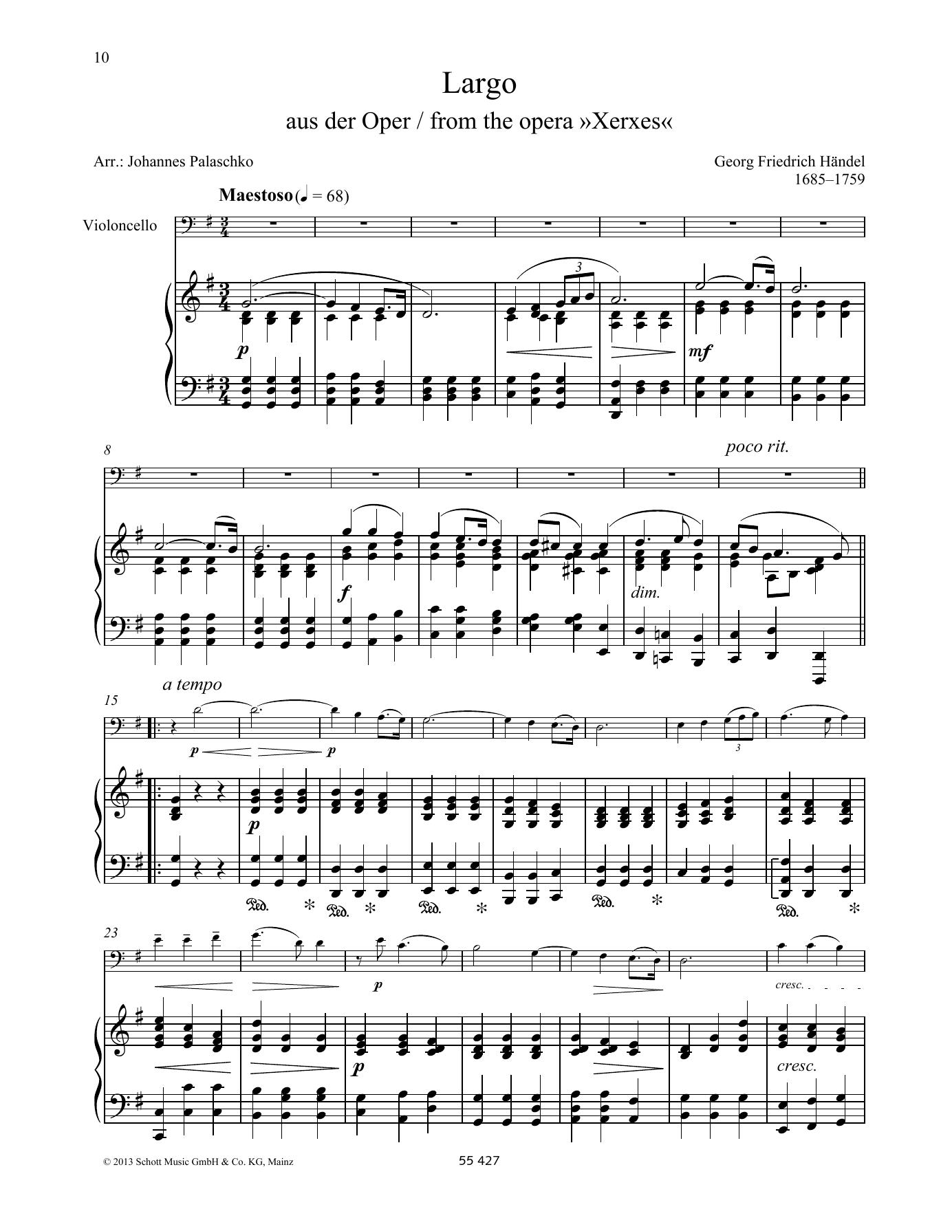 Largo Sheet Music