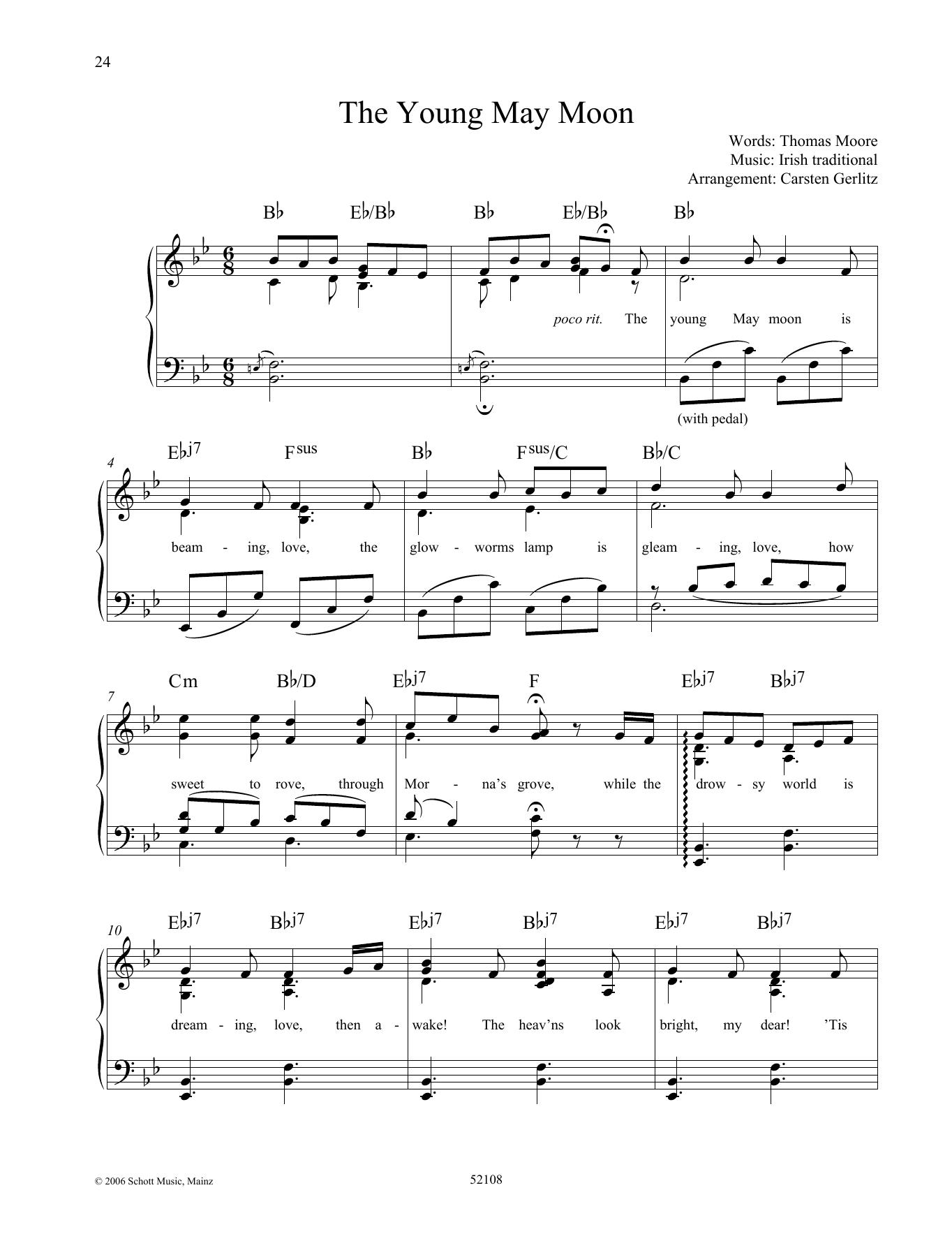 The Young May Moon Sheet Music