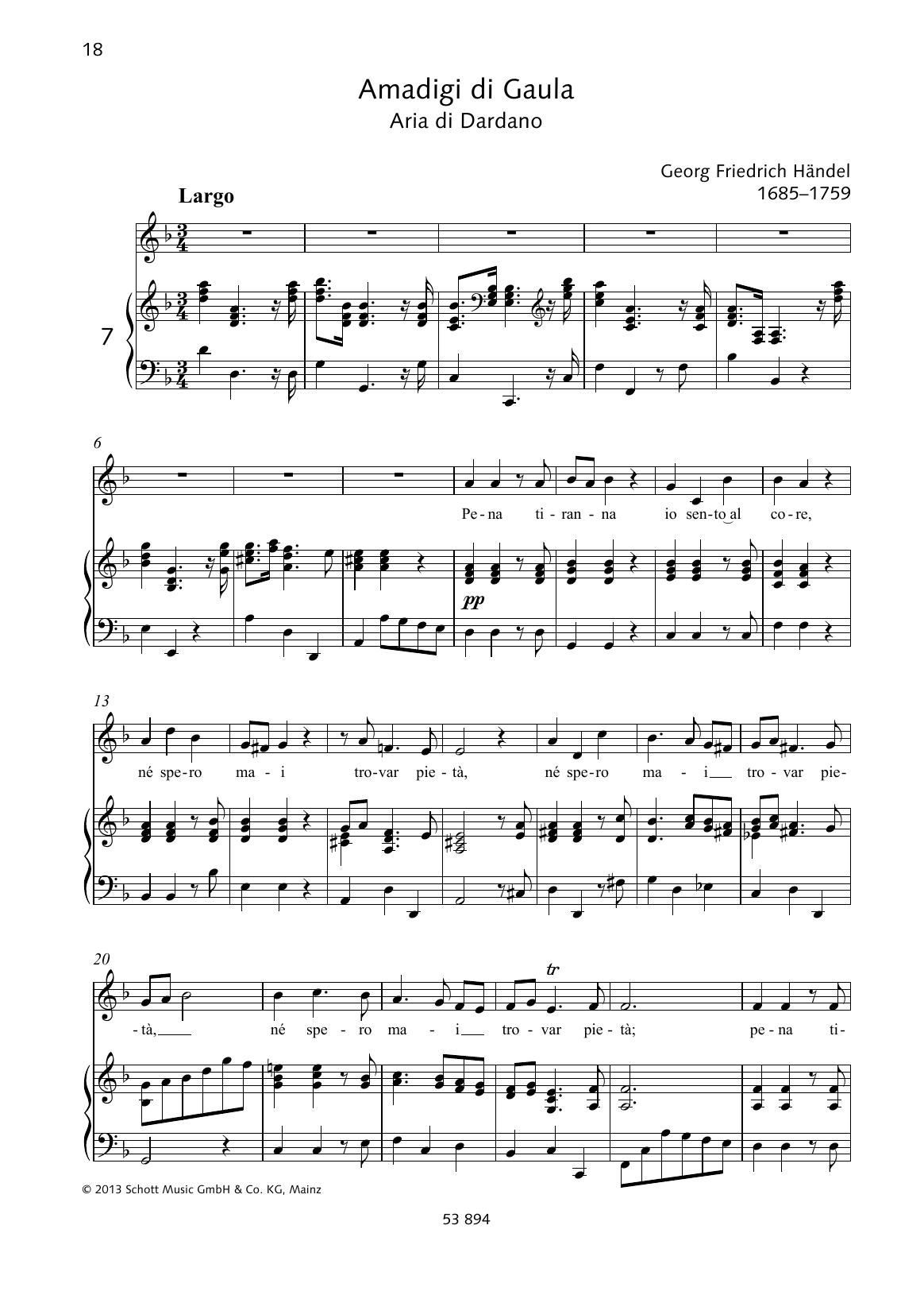 Pena tirana Sheet Music