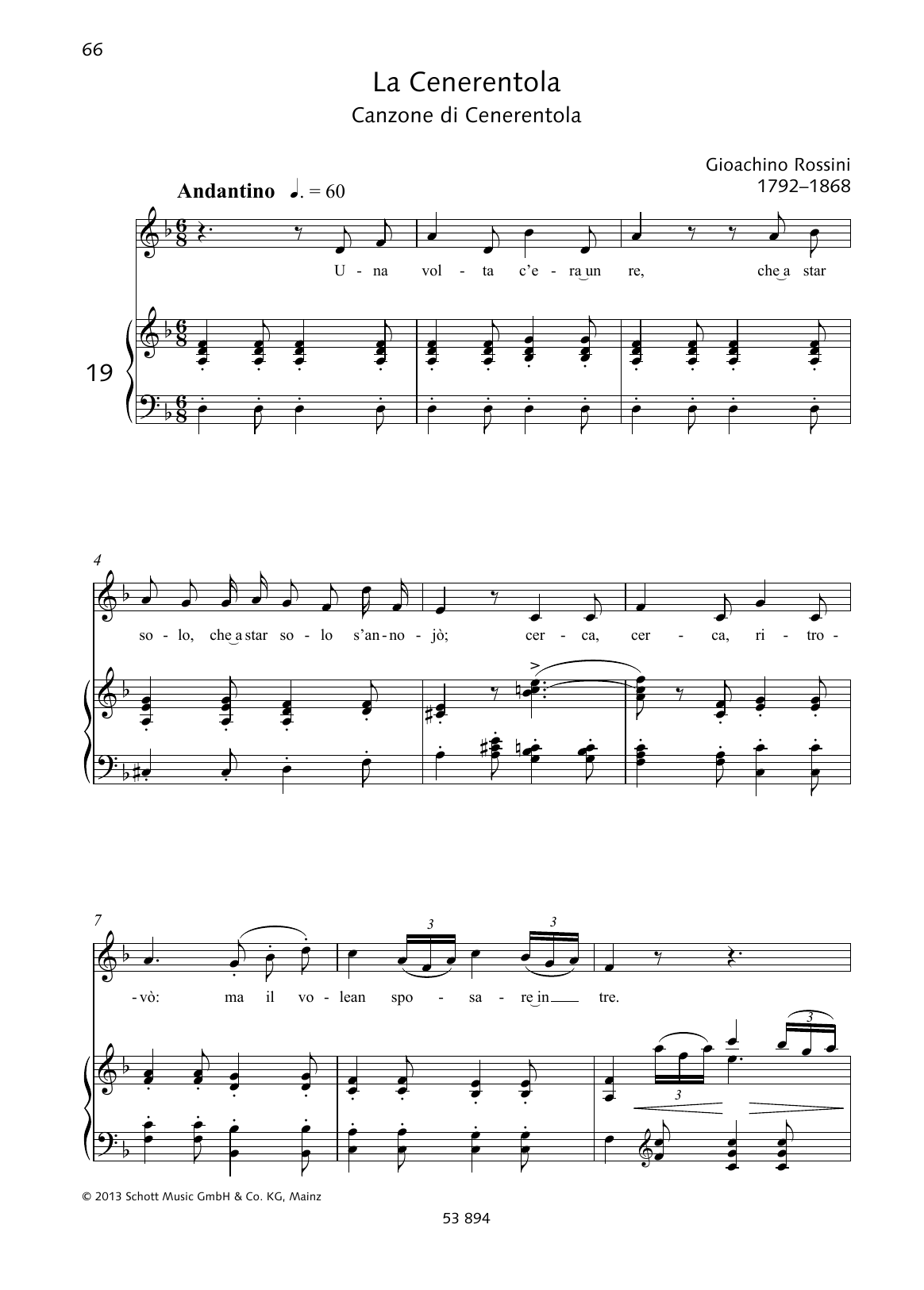 Una volta c'era unre Sheet Music