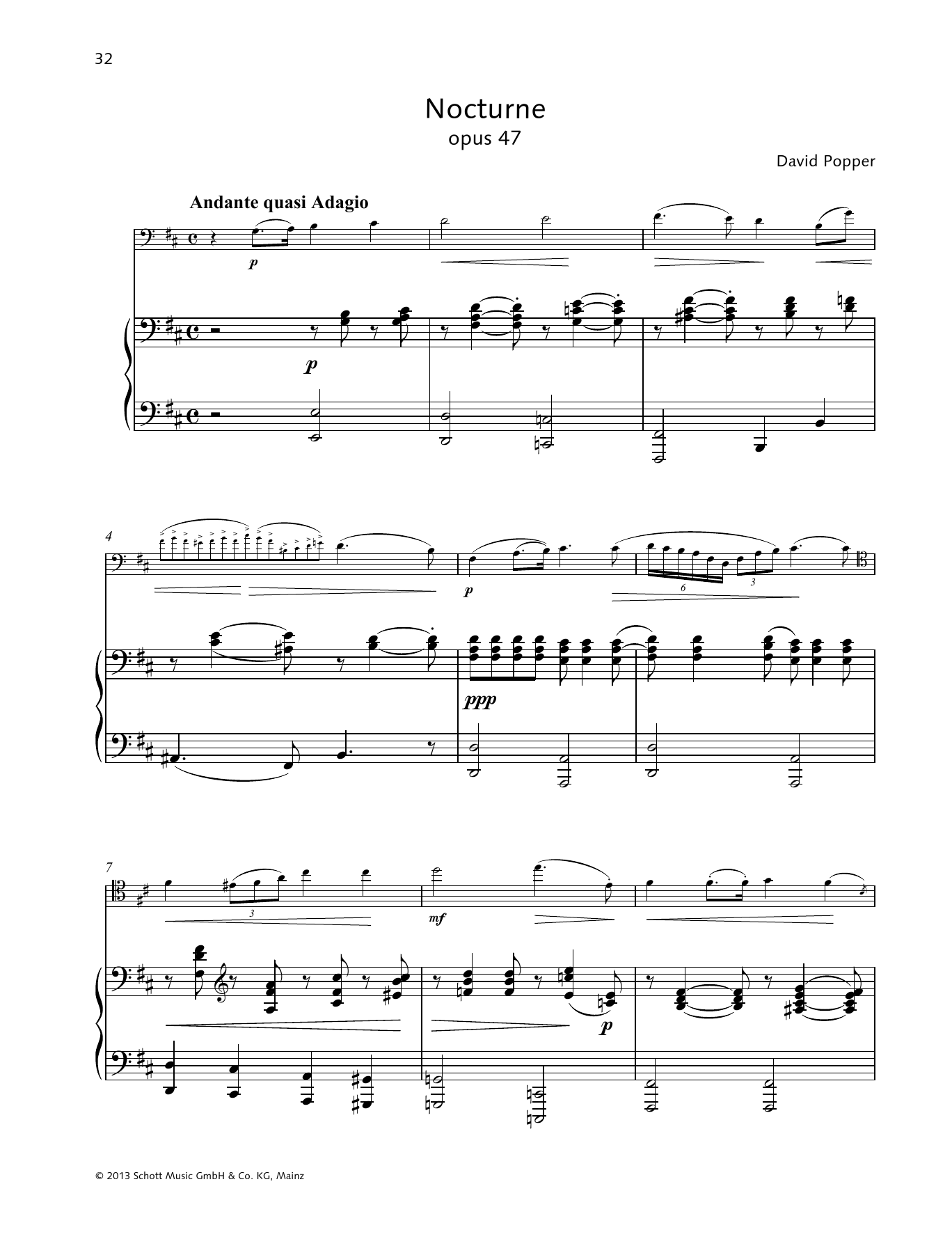 Nocturne Sheet Music