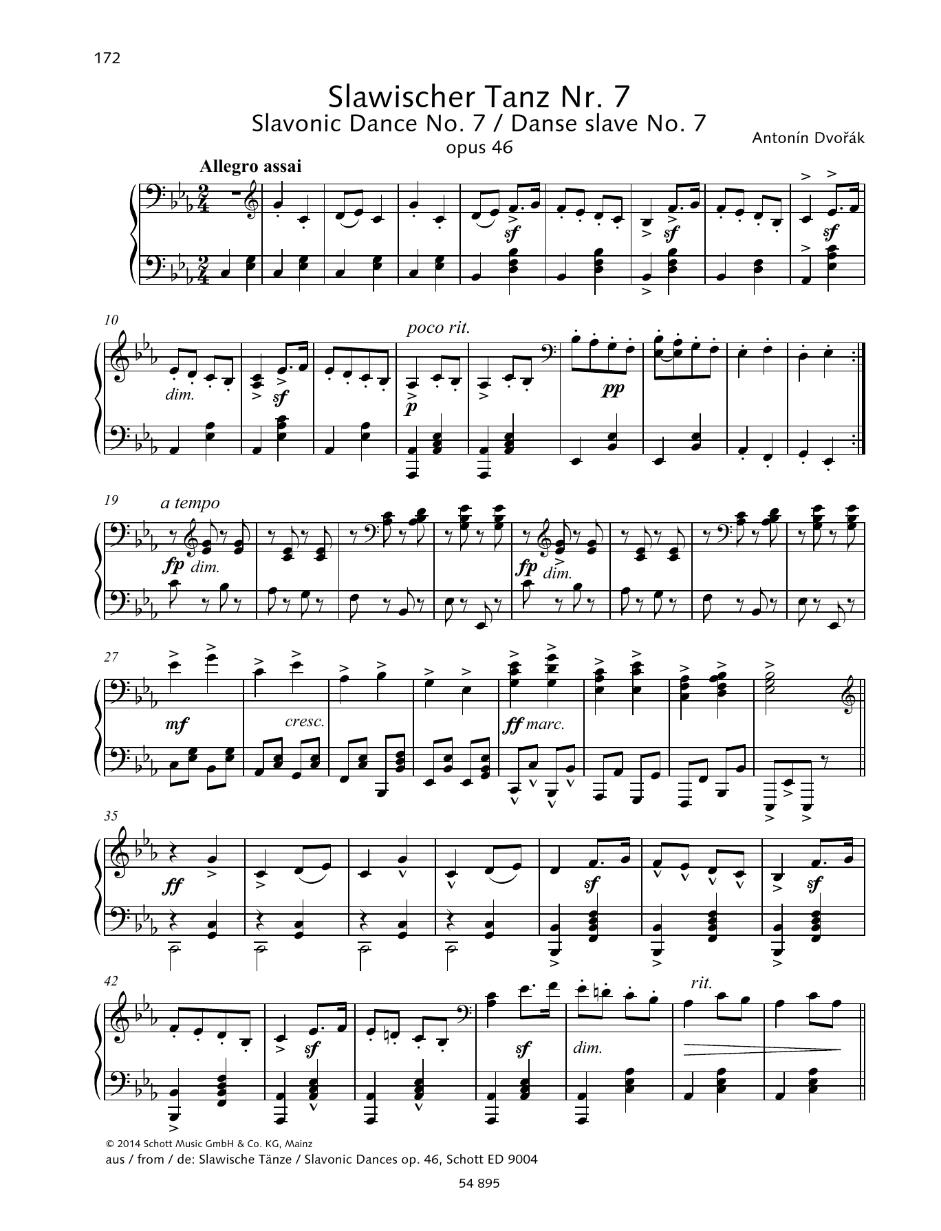 Slavonic Dance Sheet Music