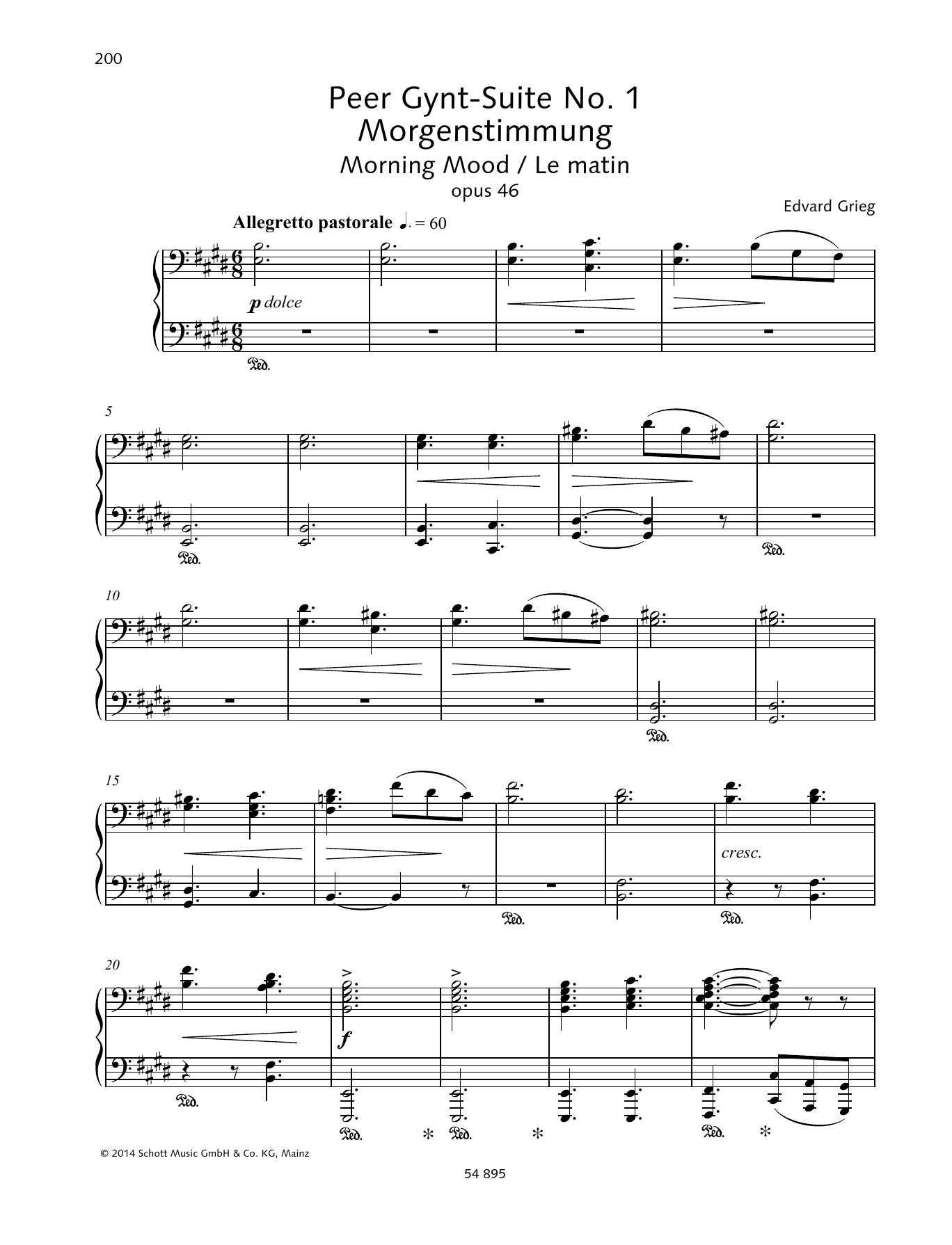 Peer-Gynt-Suite No. 1 Sheet Music