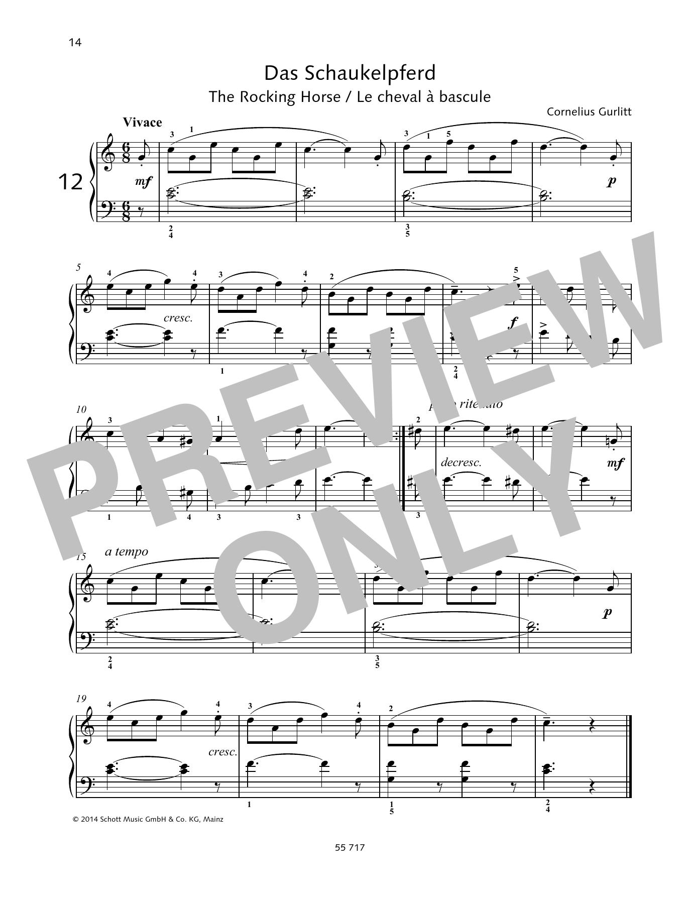 The Rocking Horse Sheet Music