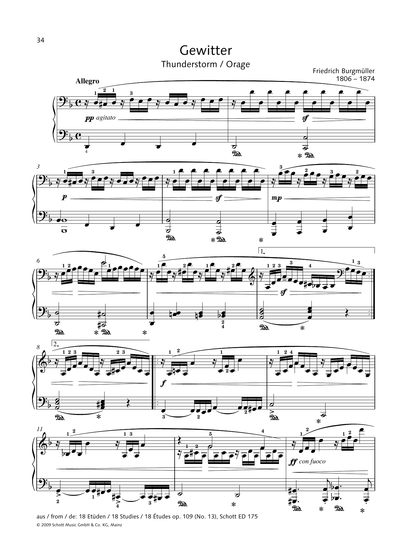 Thunderstorm Sheet Music
