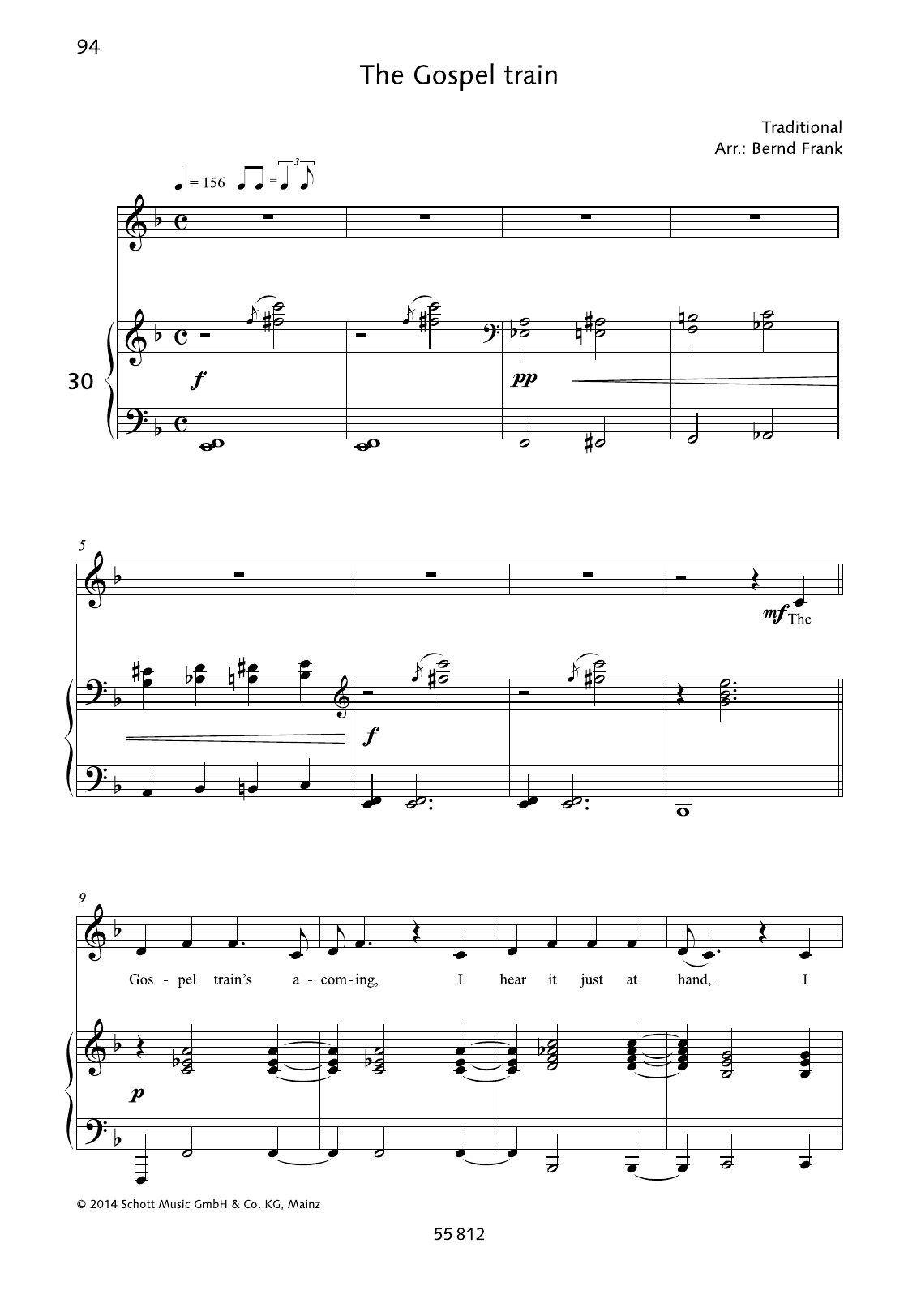 The Gospel Train Sheet Music