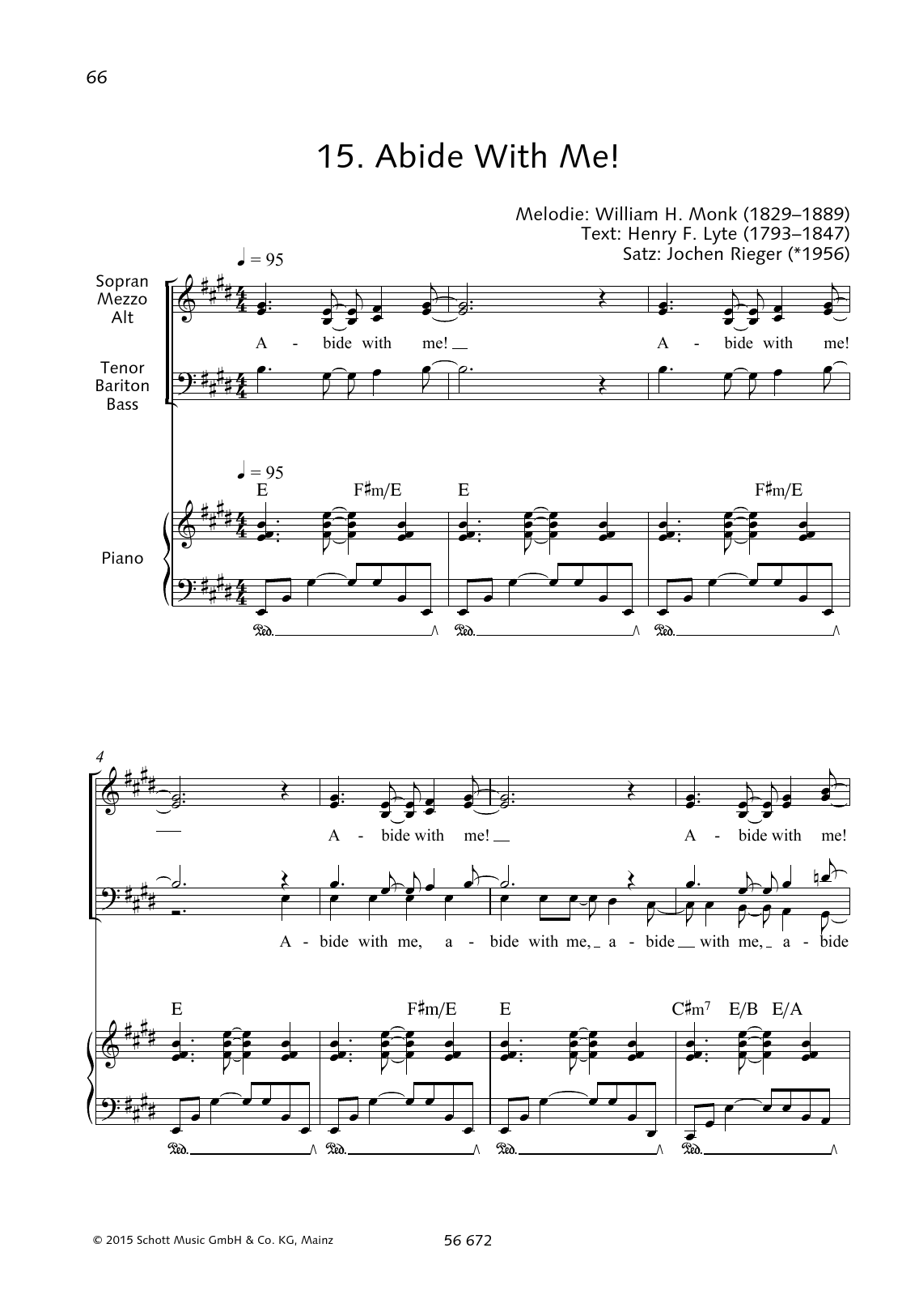 Abide With Me! Sheet Music