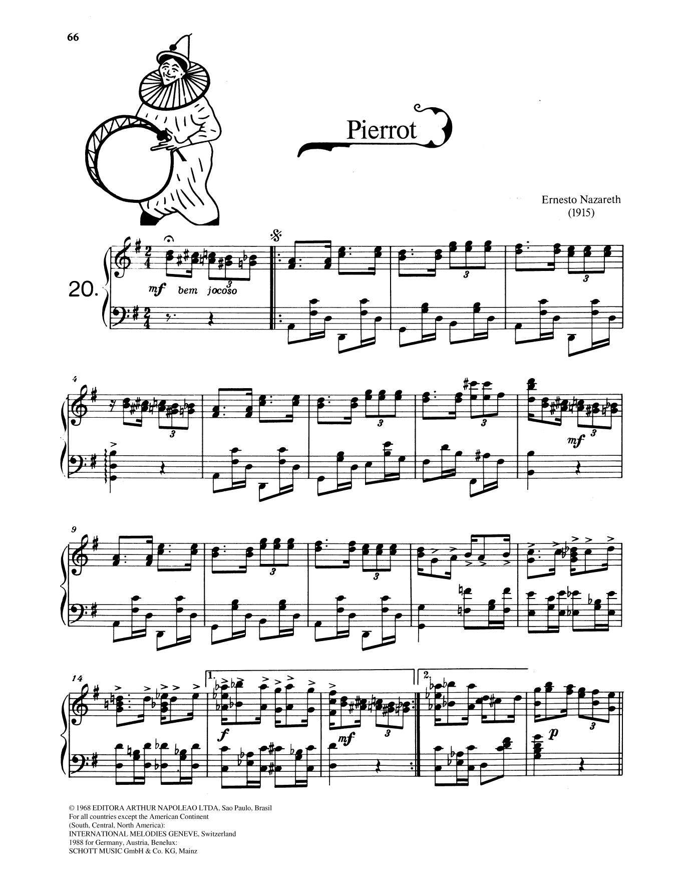 Pierrot Sheet Music