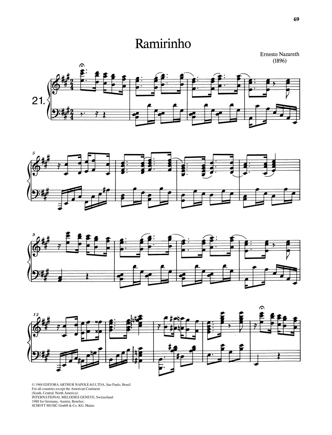 Ramirinho Sheet Music