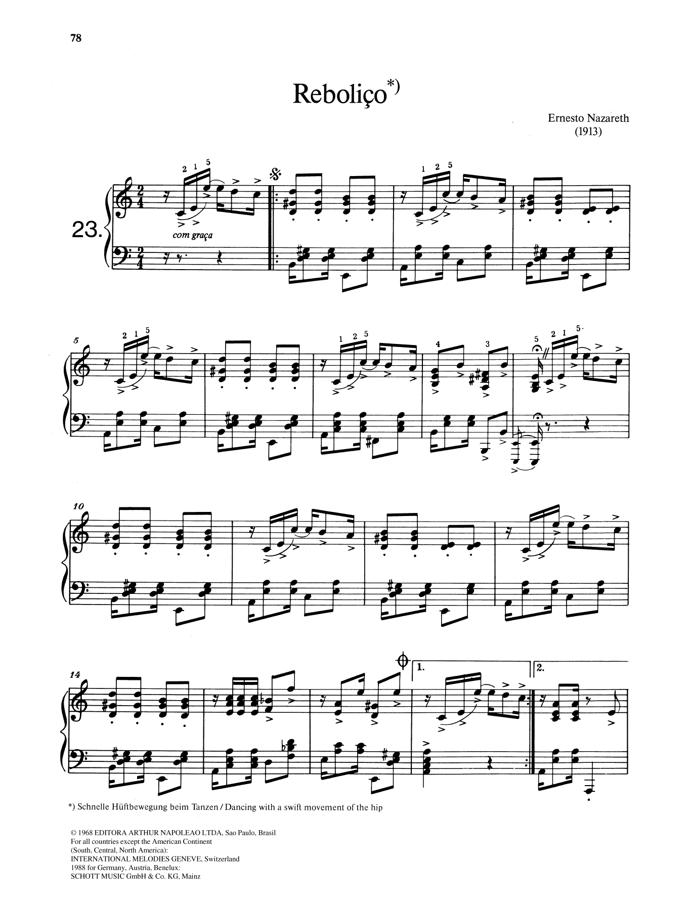 Reboliço Sheet Music