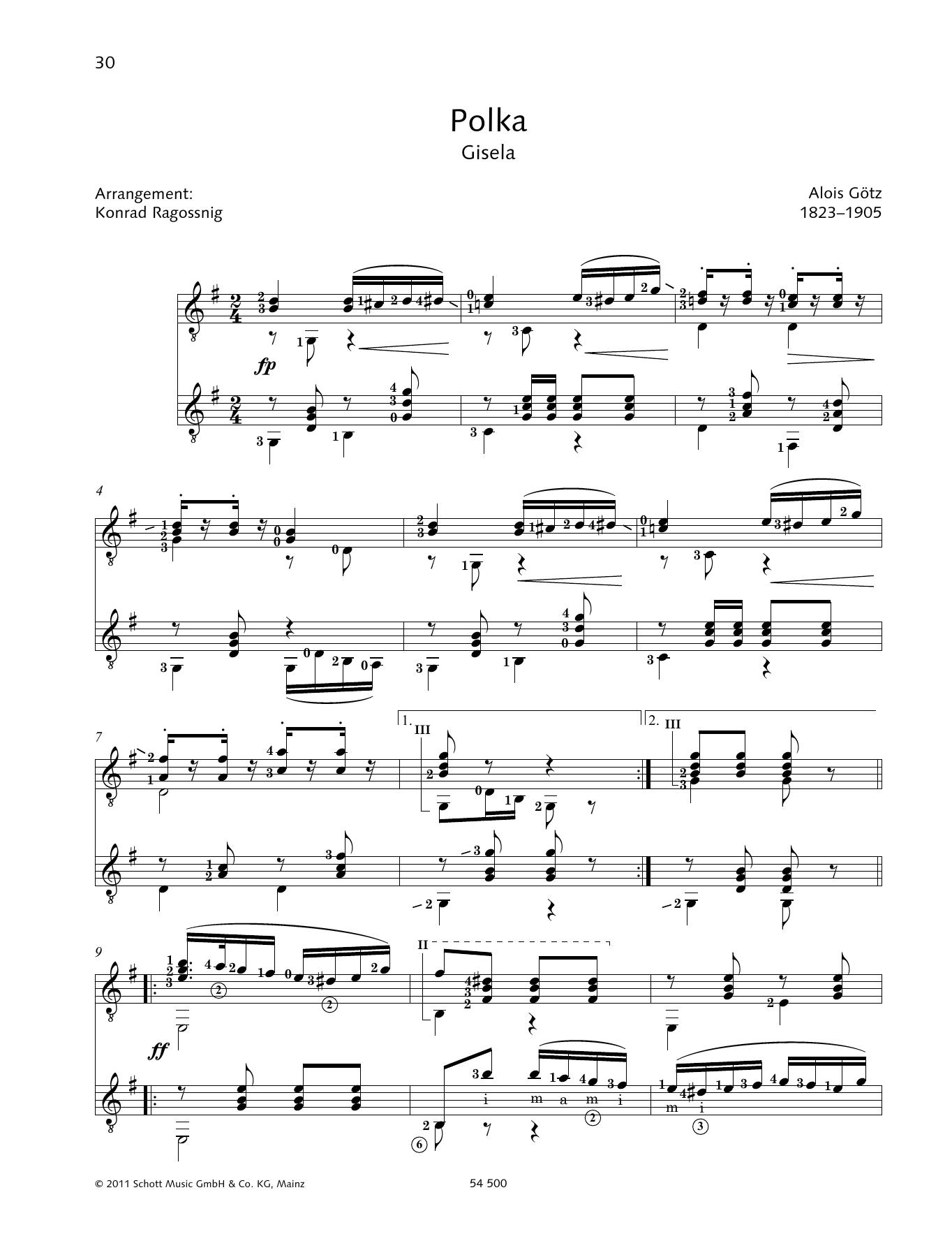 Polka - Full Score Sheet Music