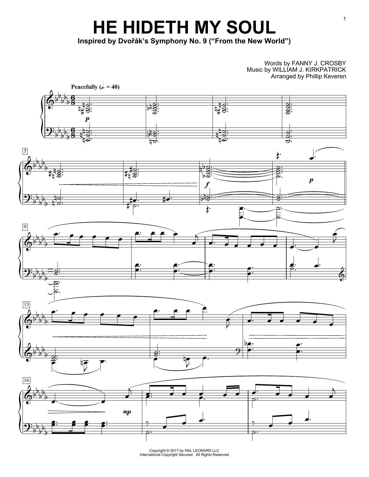 He Hideth My Soul (Piano Solo)