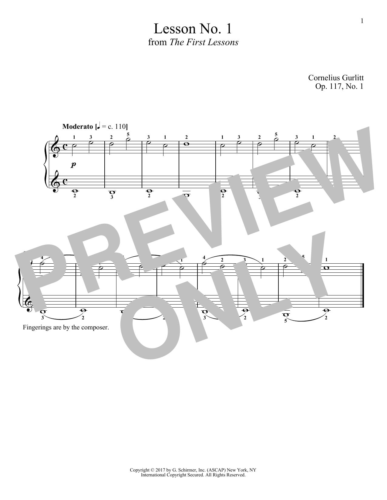 Moderato, Op. 117, No. 1 (Piano Solo)