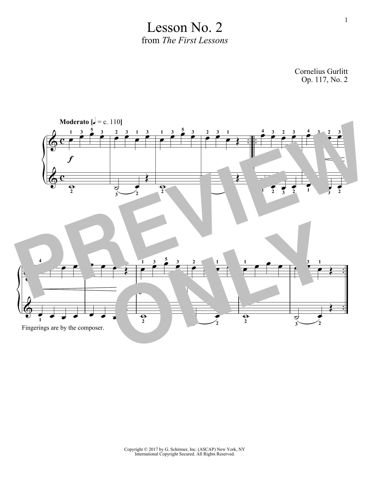 Moderato, Op. 117, No. 2 (Piano Solo)