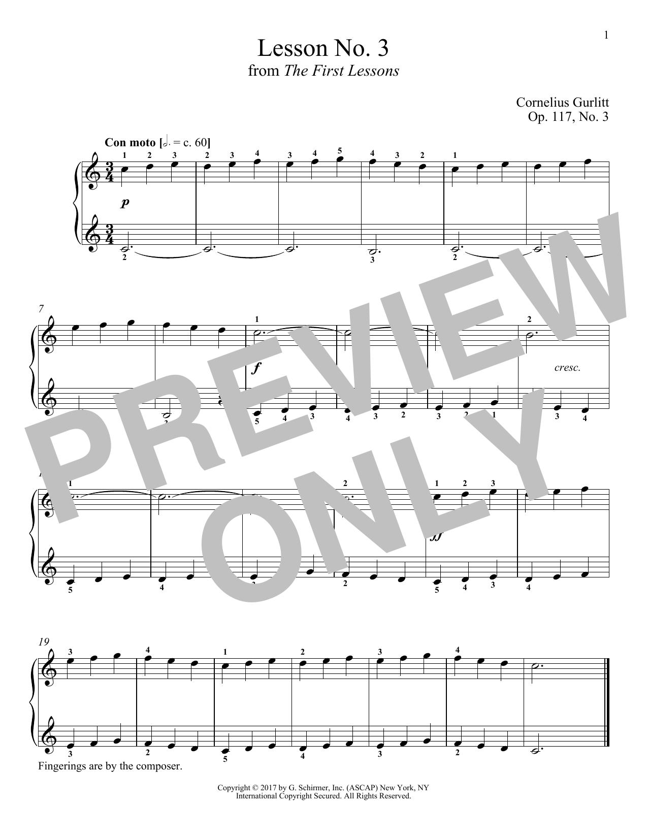 Con moto, Op. 117, No. 3 (Piano Solo)