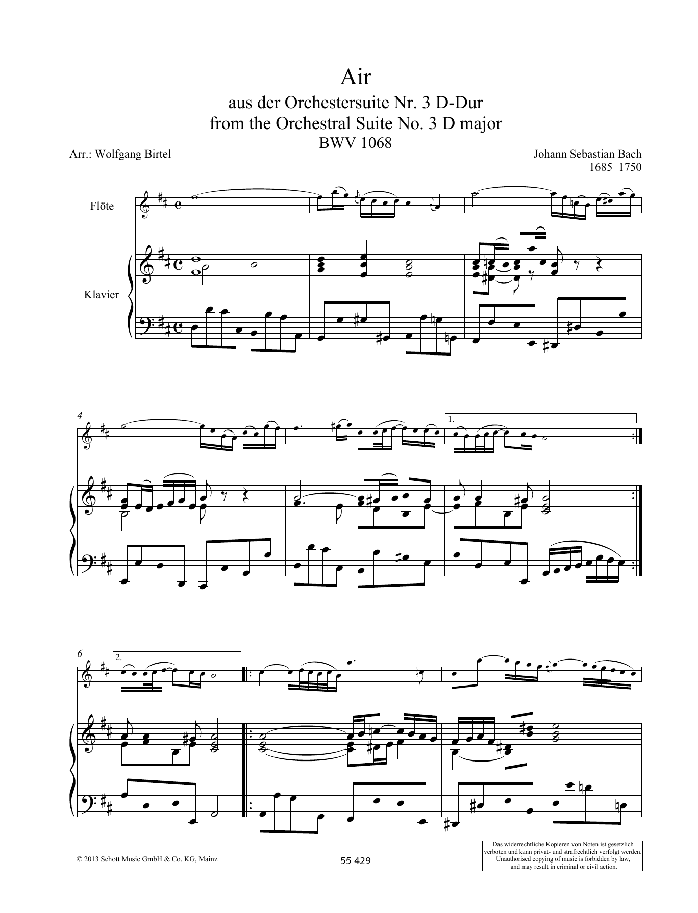 Air Sheet Music