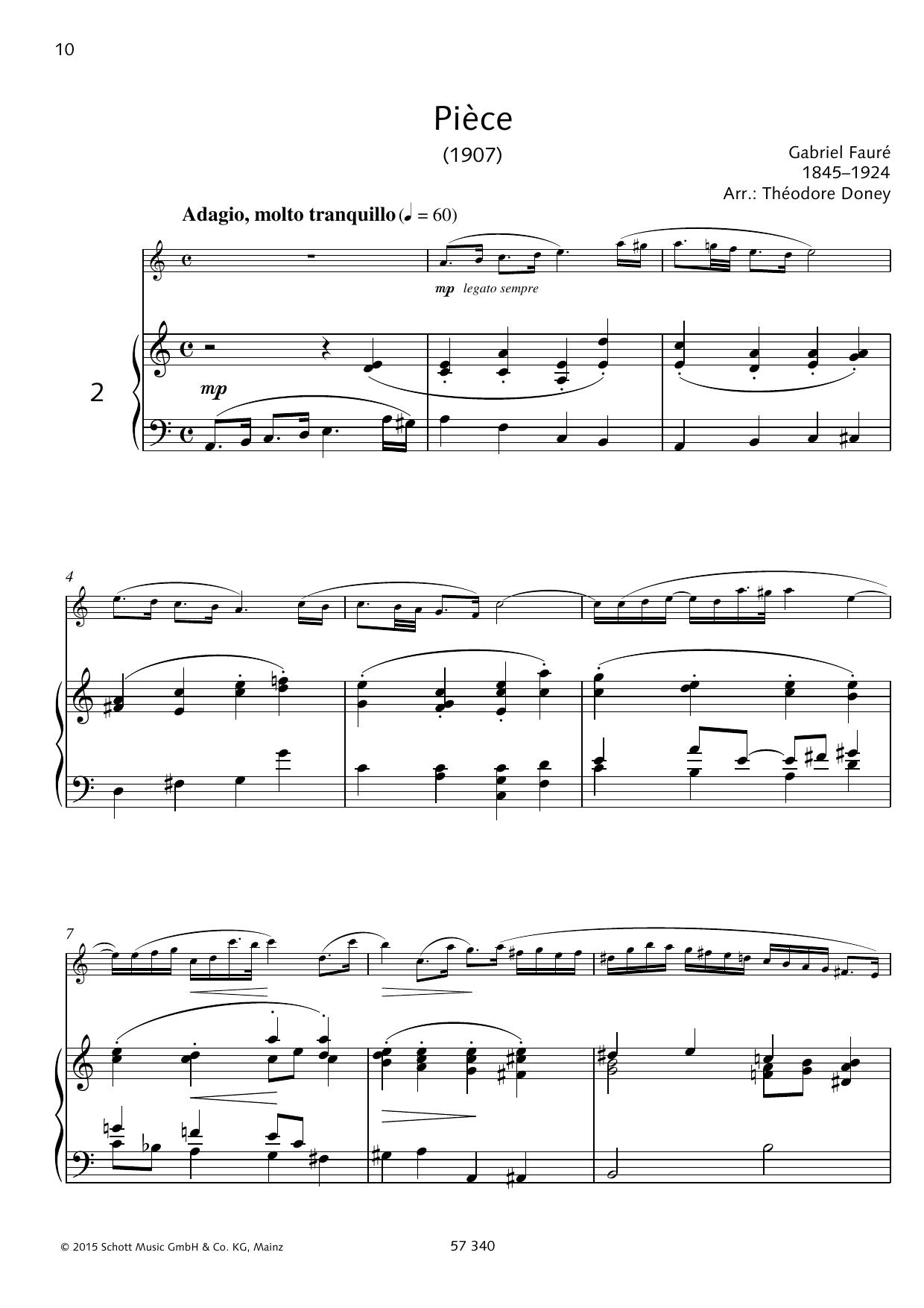 Piece Sheet Music