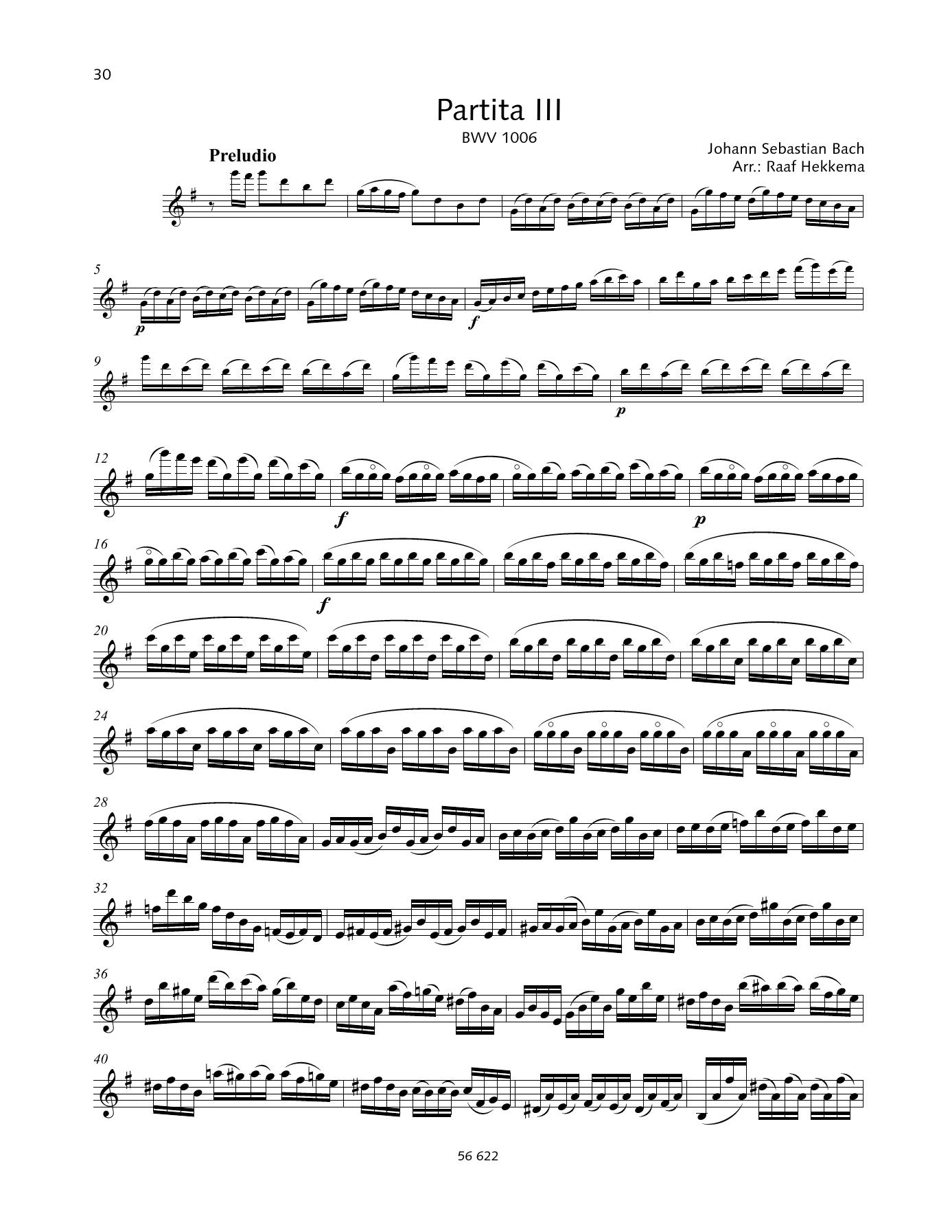 Partita III Sheet Music