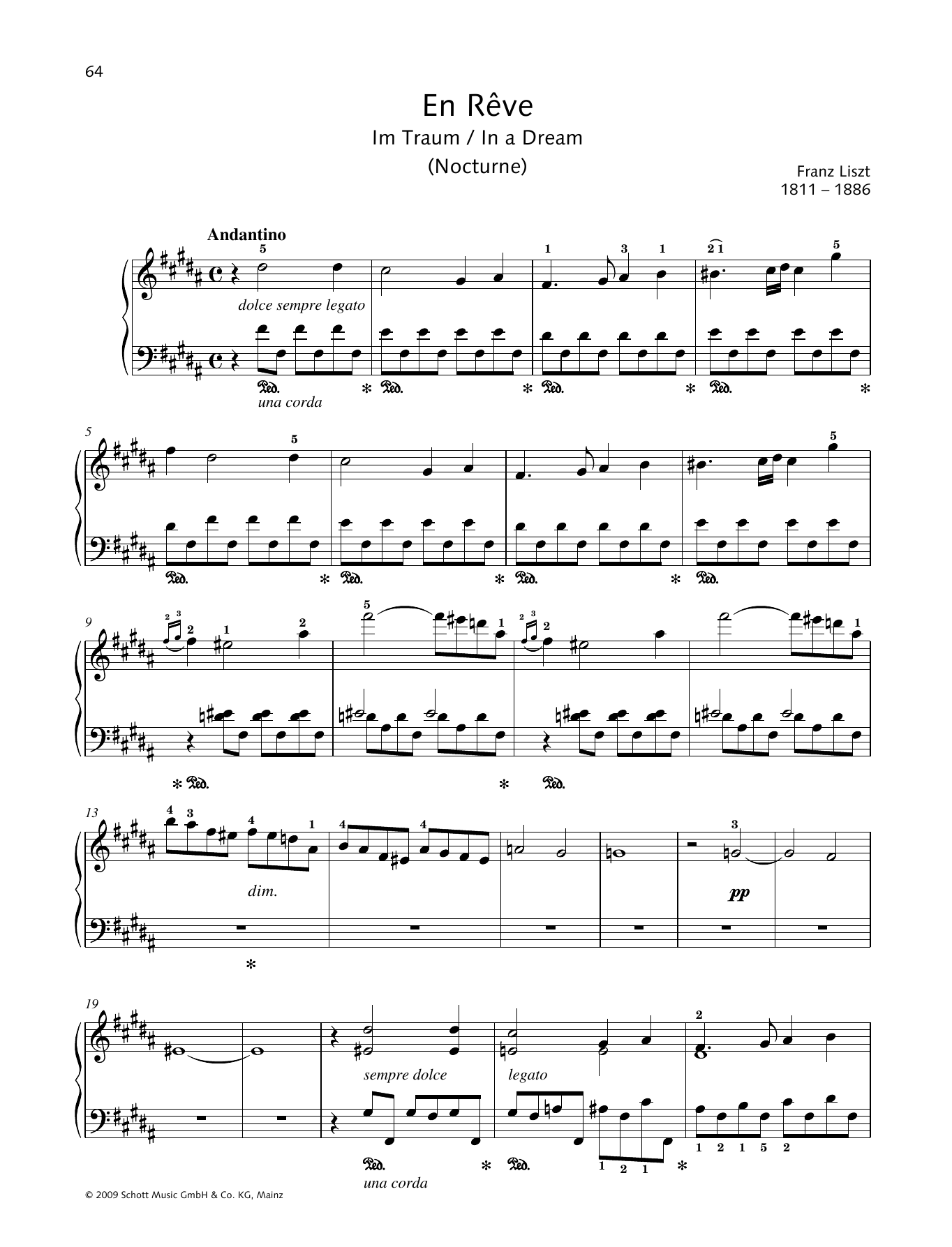 In a Dream Sheet Music