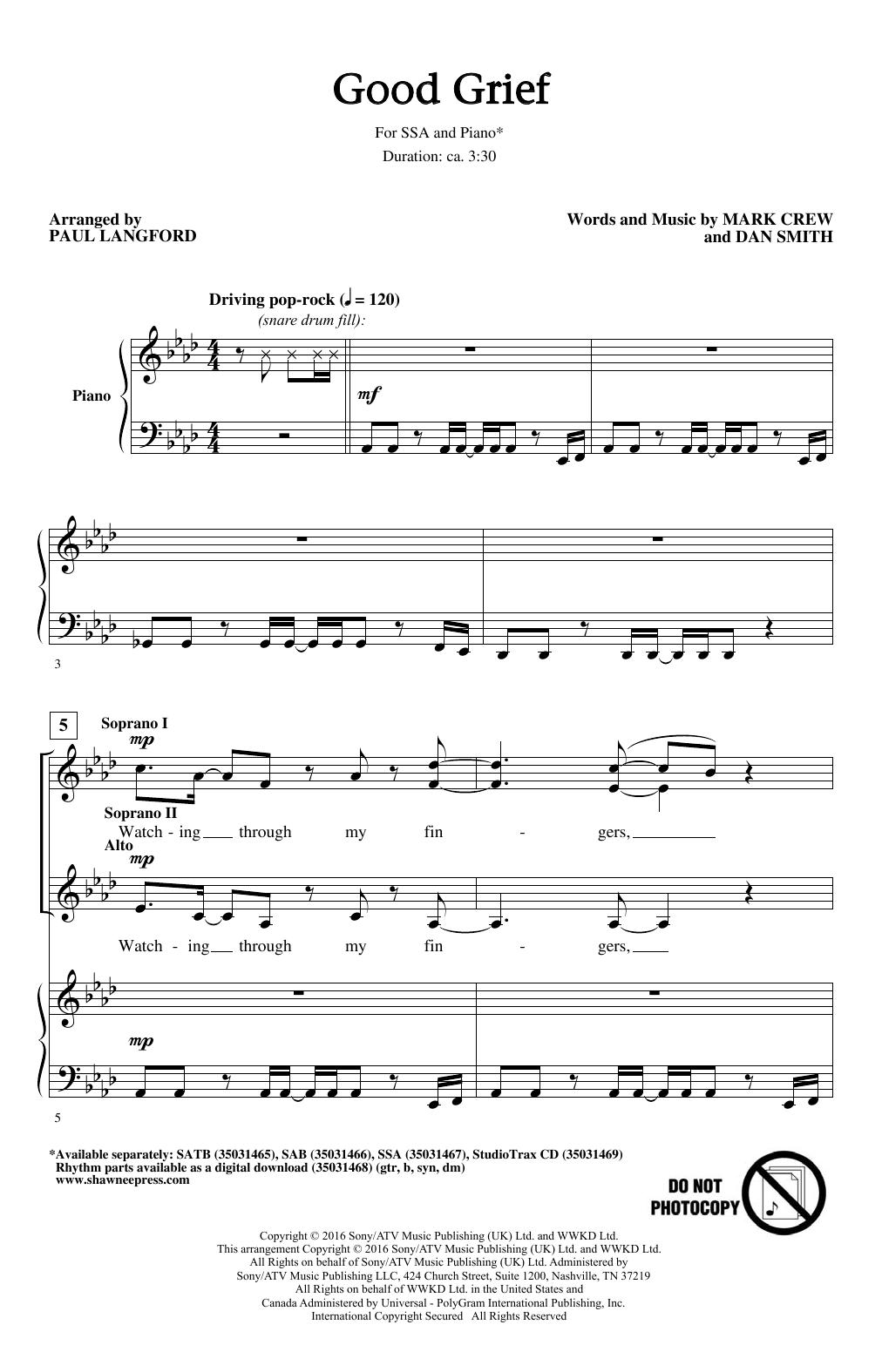 Good Grief (SSA Choir)