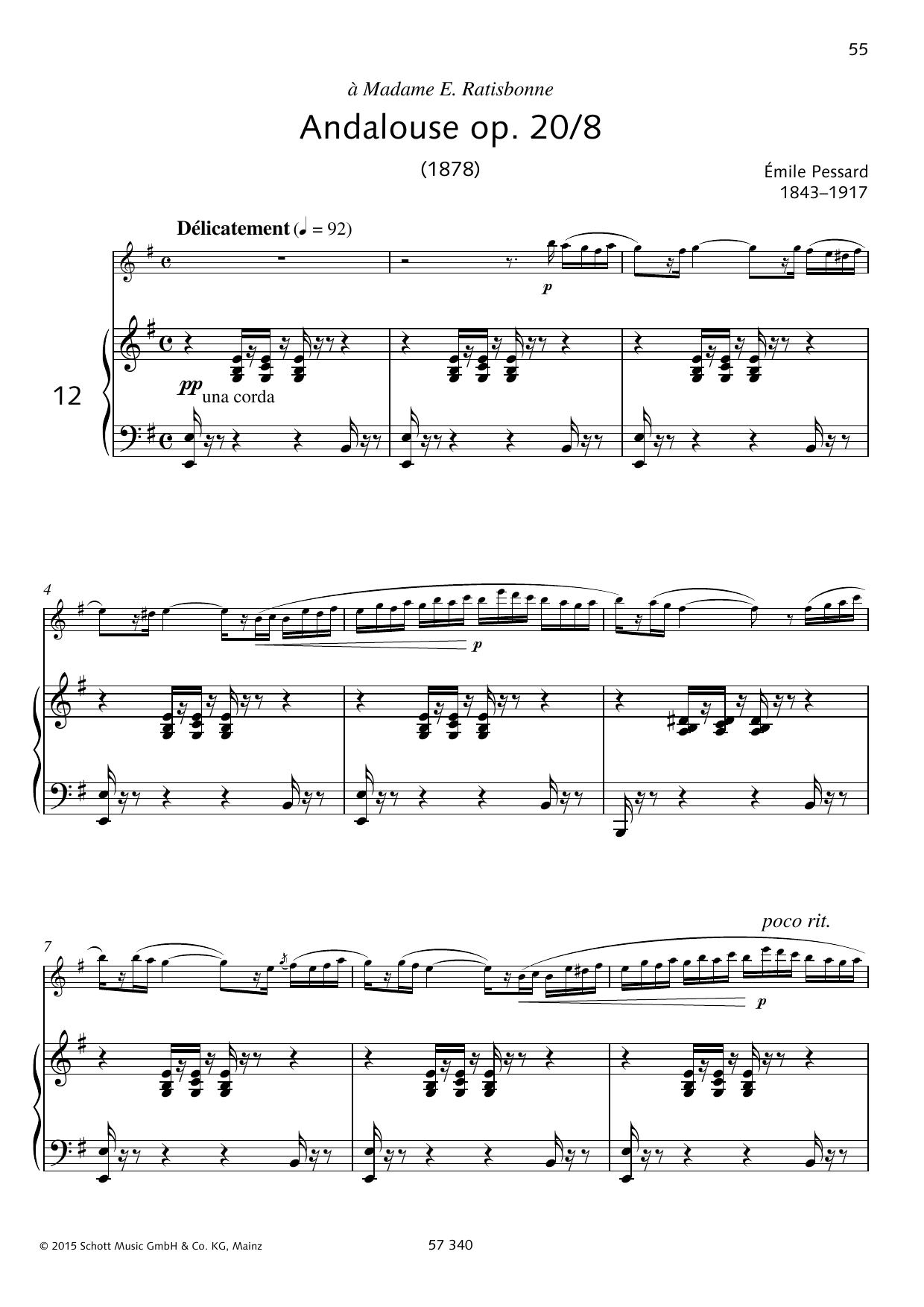 Andalouse Sheet Music