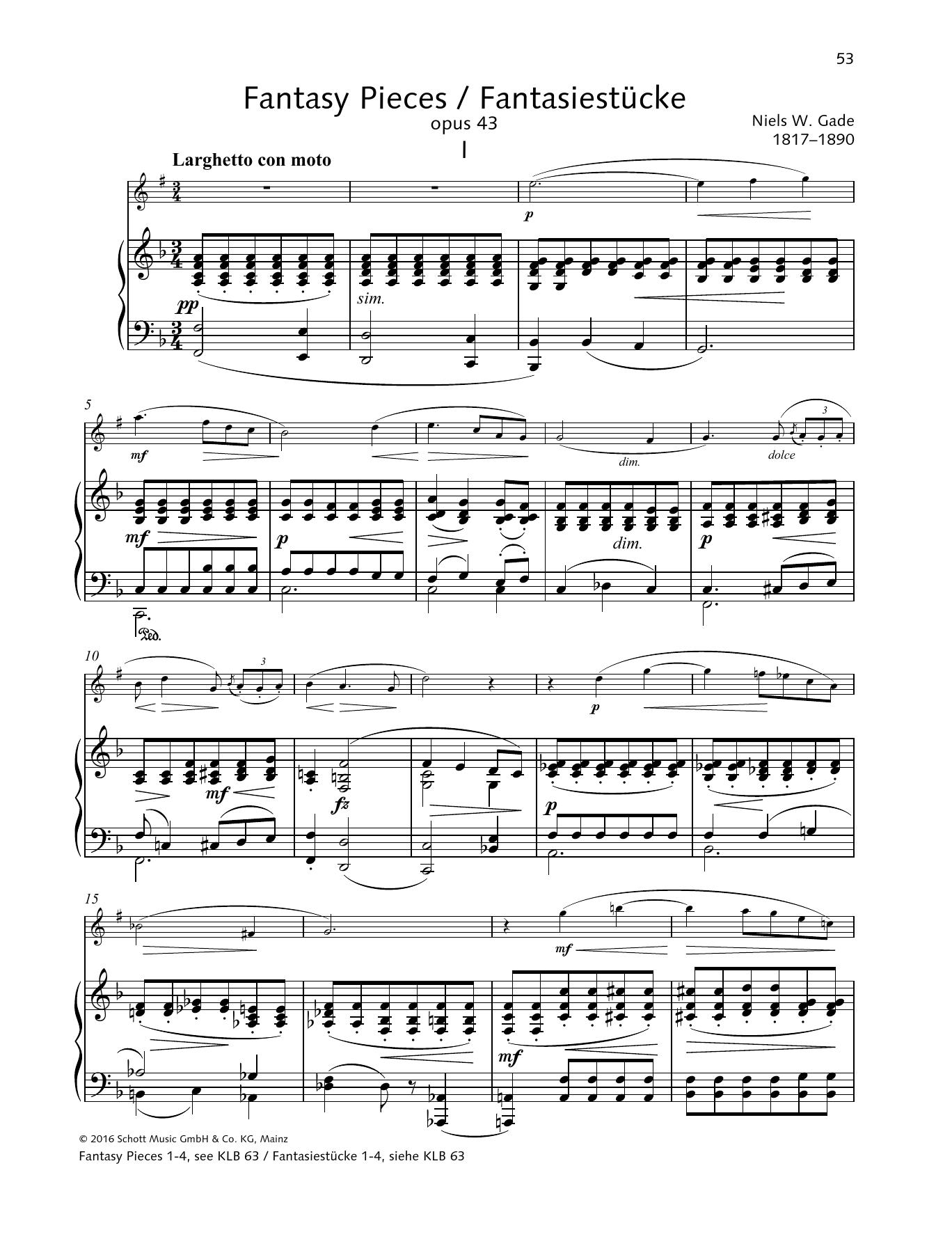 Fantasy Pieces Sheet Music