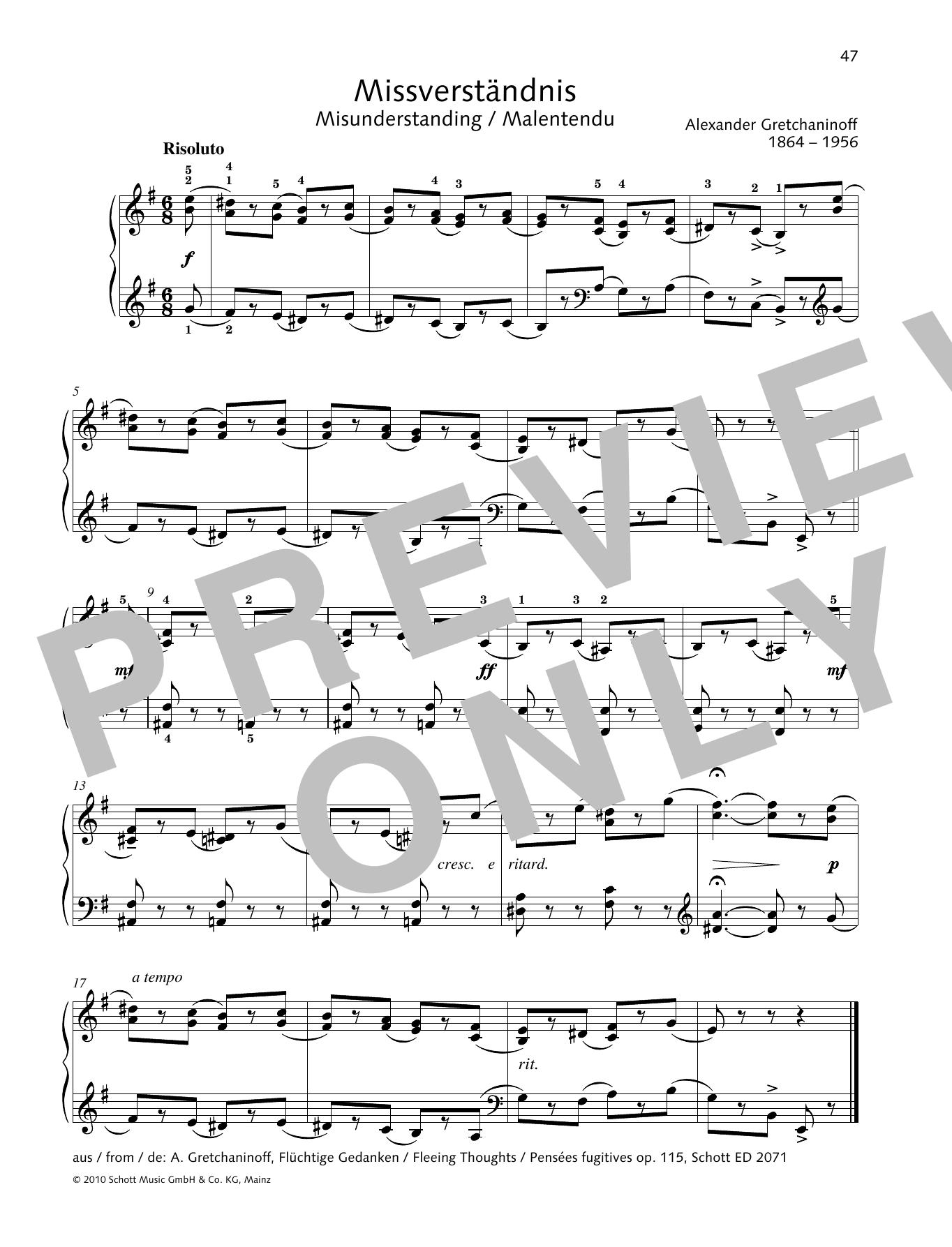 Misunderstanding Sheet Music