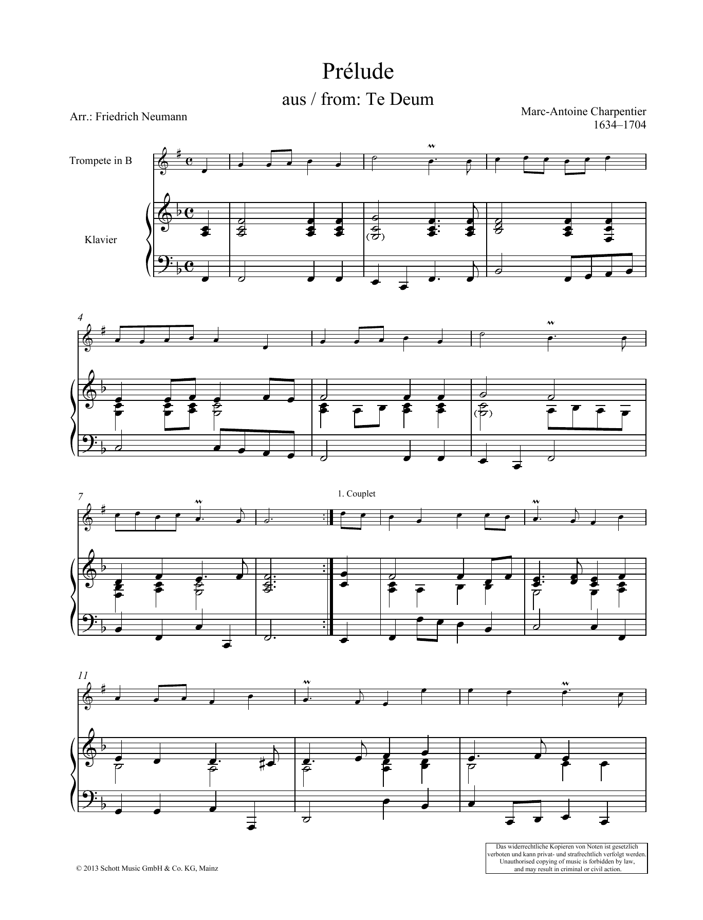 Prélude Sheet Music