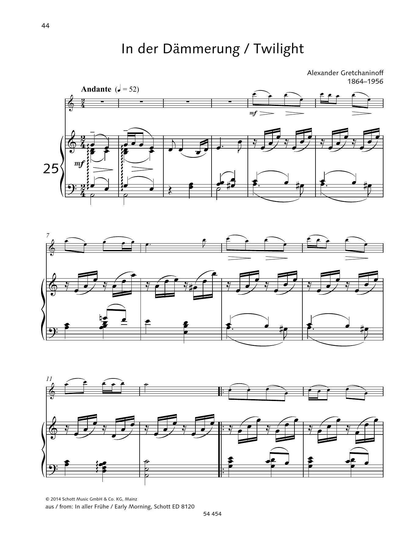 Twilight Sheet Music