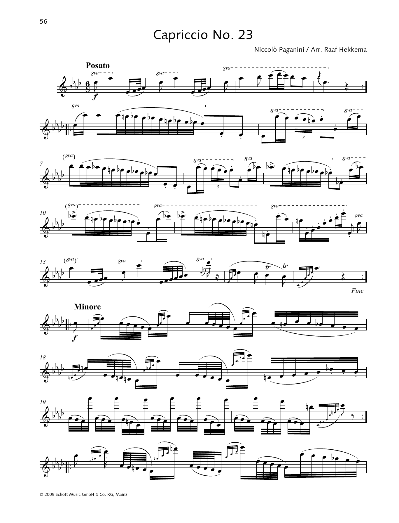 Capriccio No. 23 Sheet Music