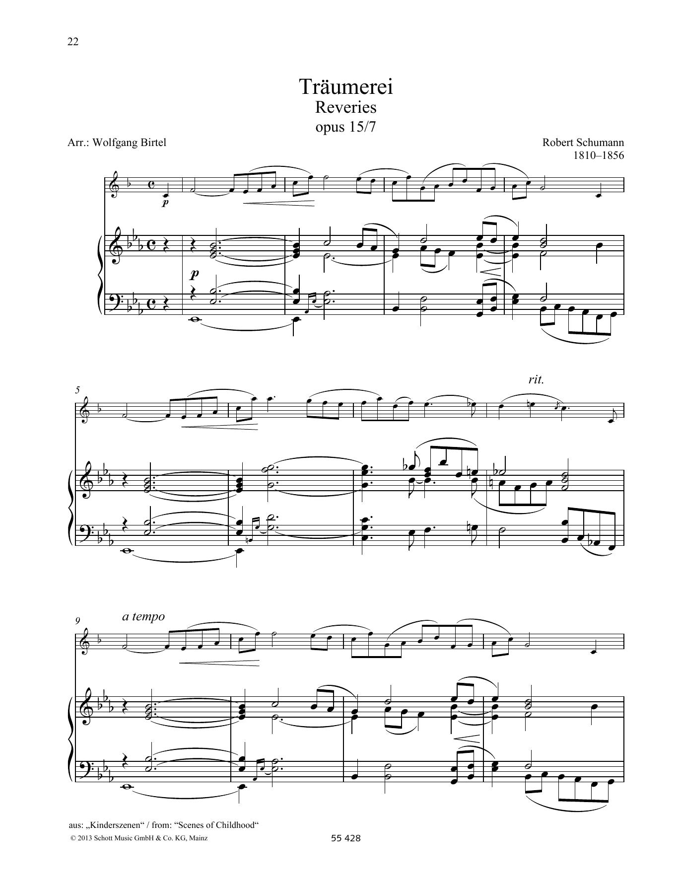 Rêveries Sheet Music