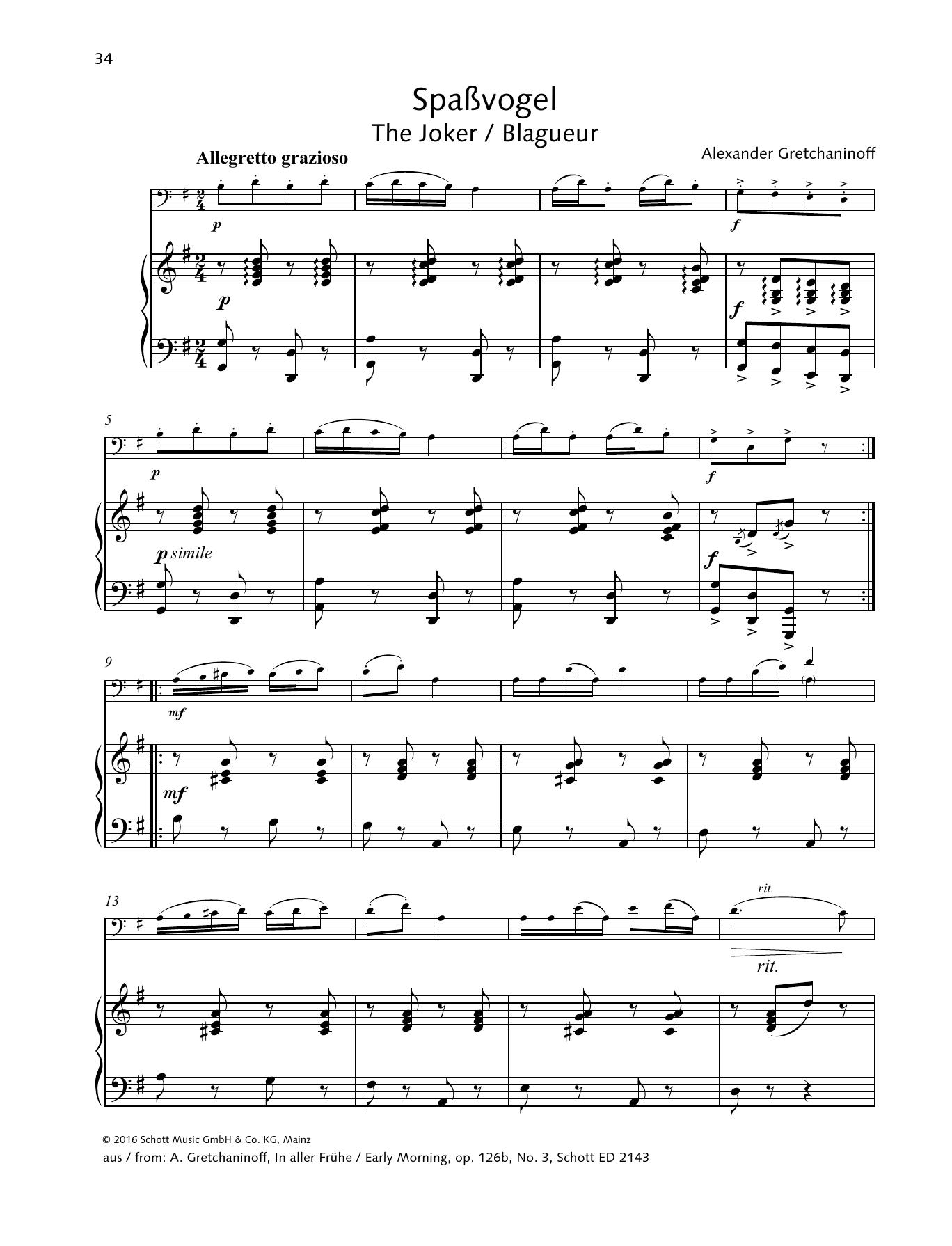 The Joker Sheet Music