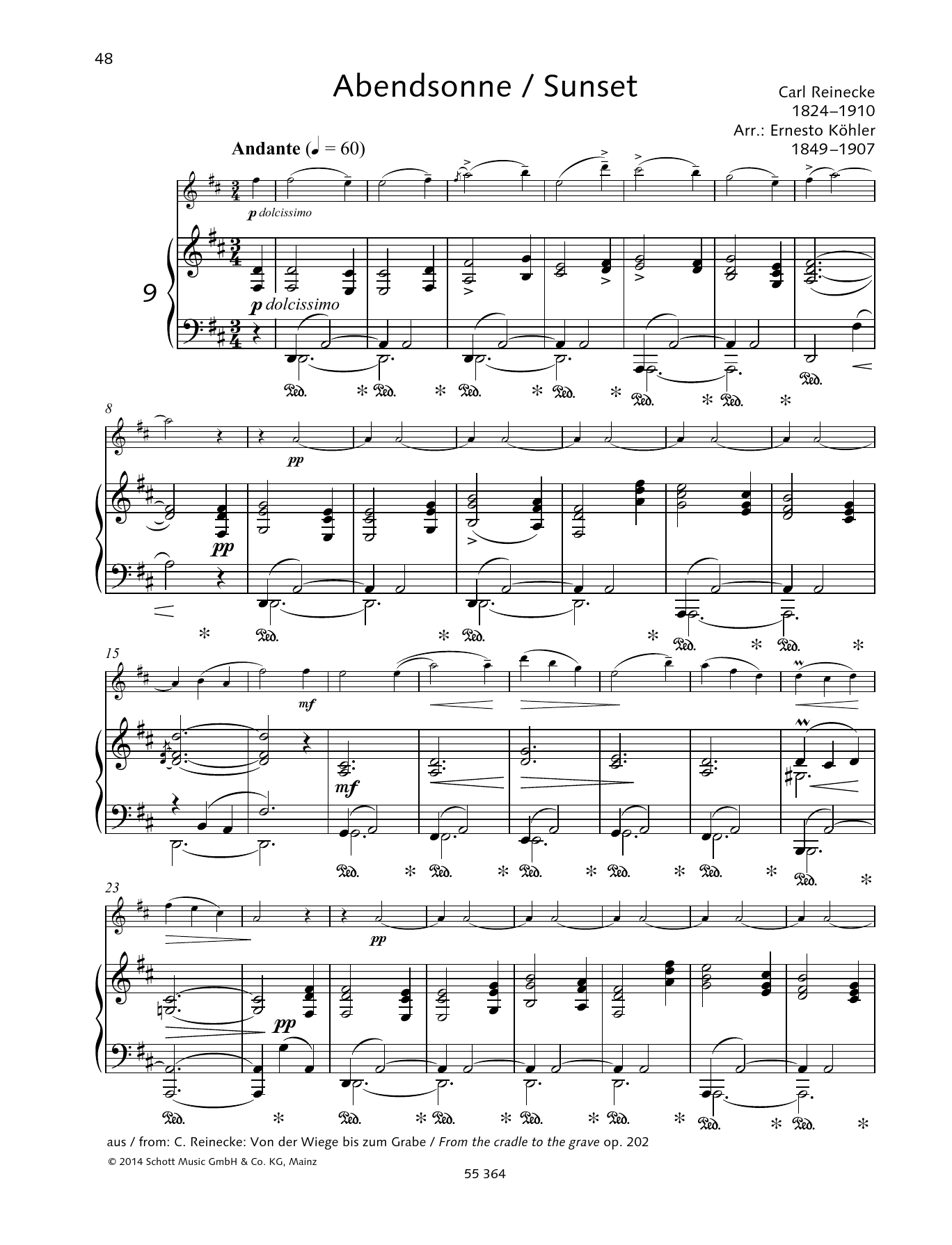 Sunset Sheet Music