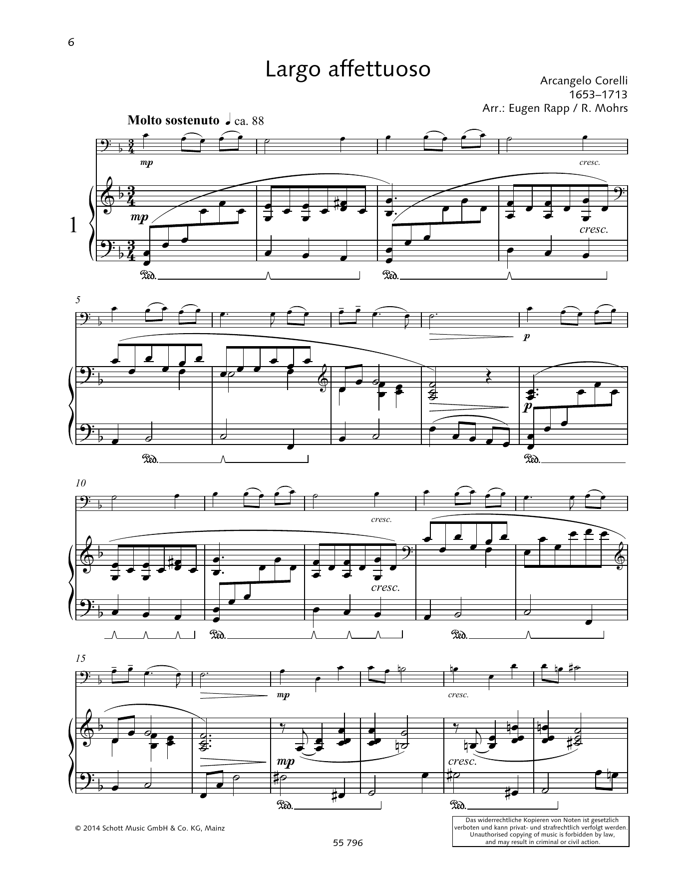 Largo affettuoso Sheet Music