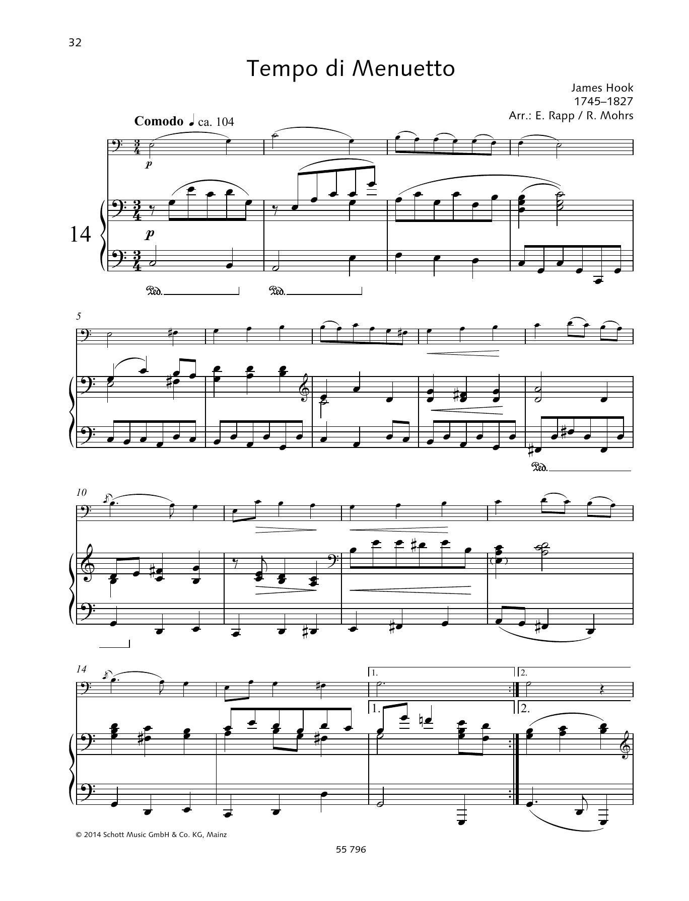 Tempo Di Menuetto Sheet Music