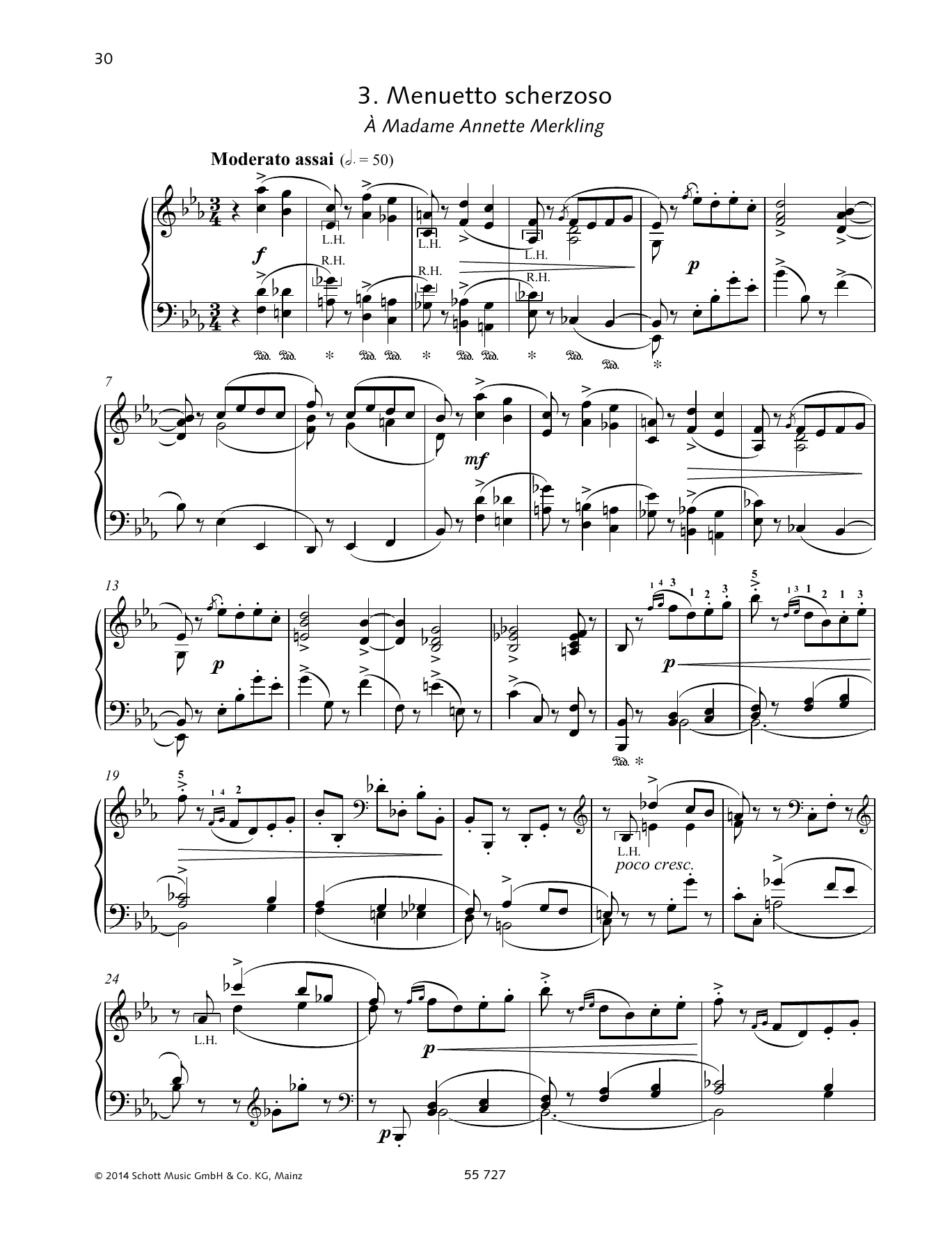 Menuetto scherzoso Sheet Music